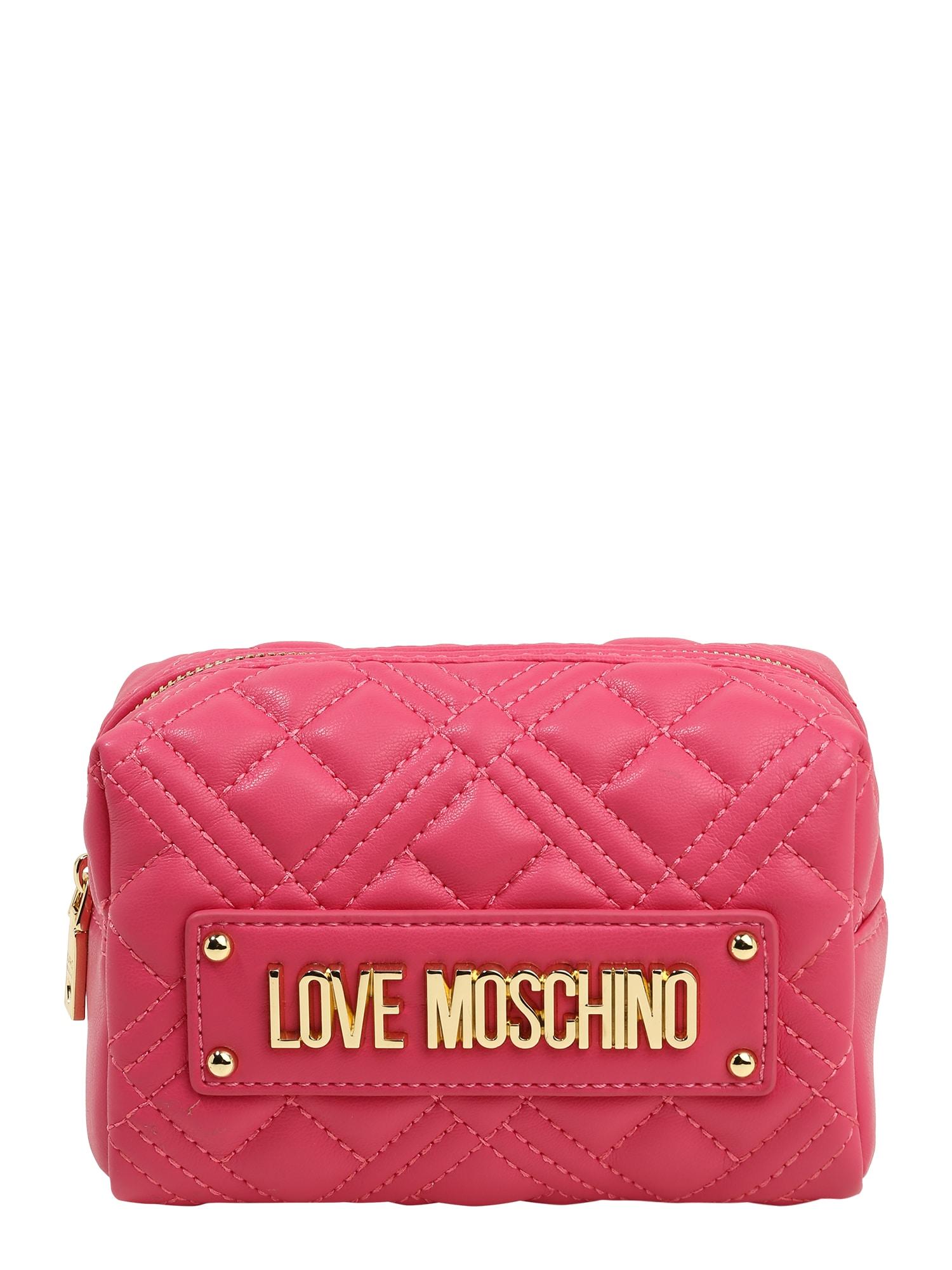 Love Moschino Kosmetinė fuksijų spalva