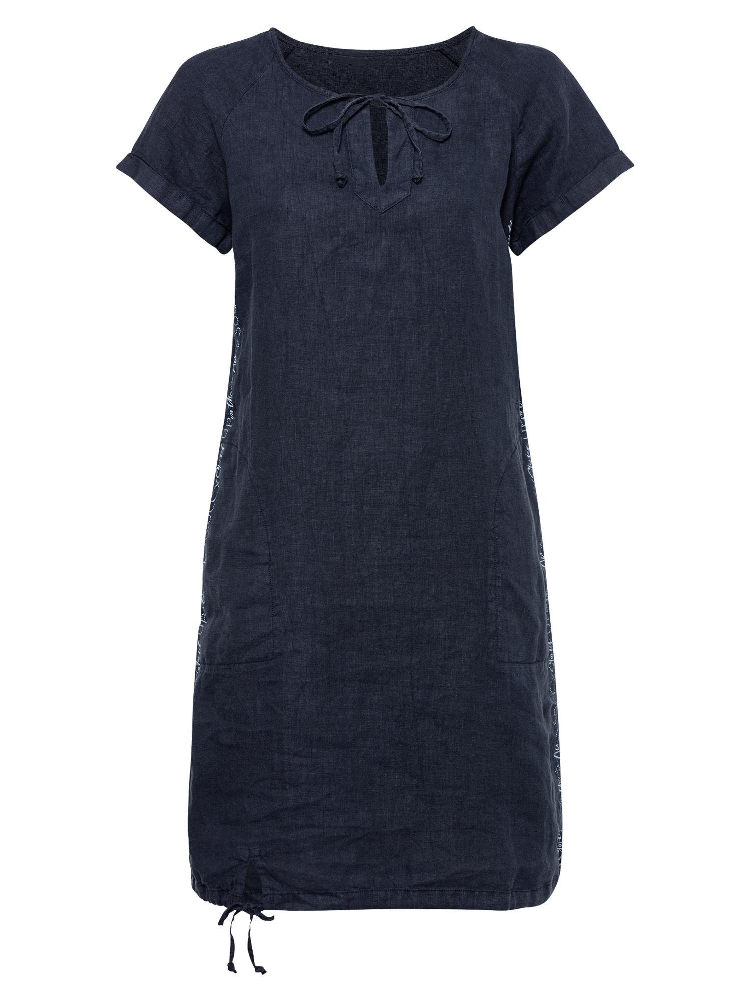 Soccx Palaidinės tipo suknelė tamsiai mėlyna / šviesiai mėlyna