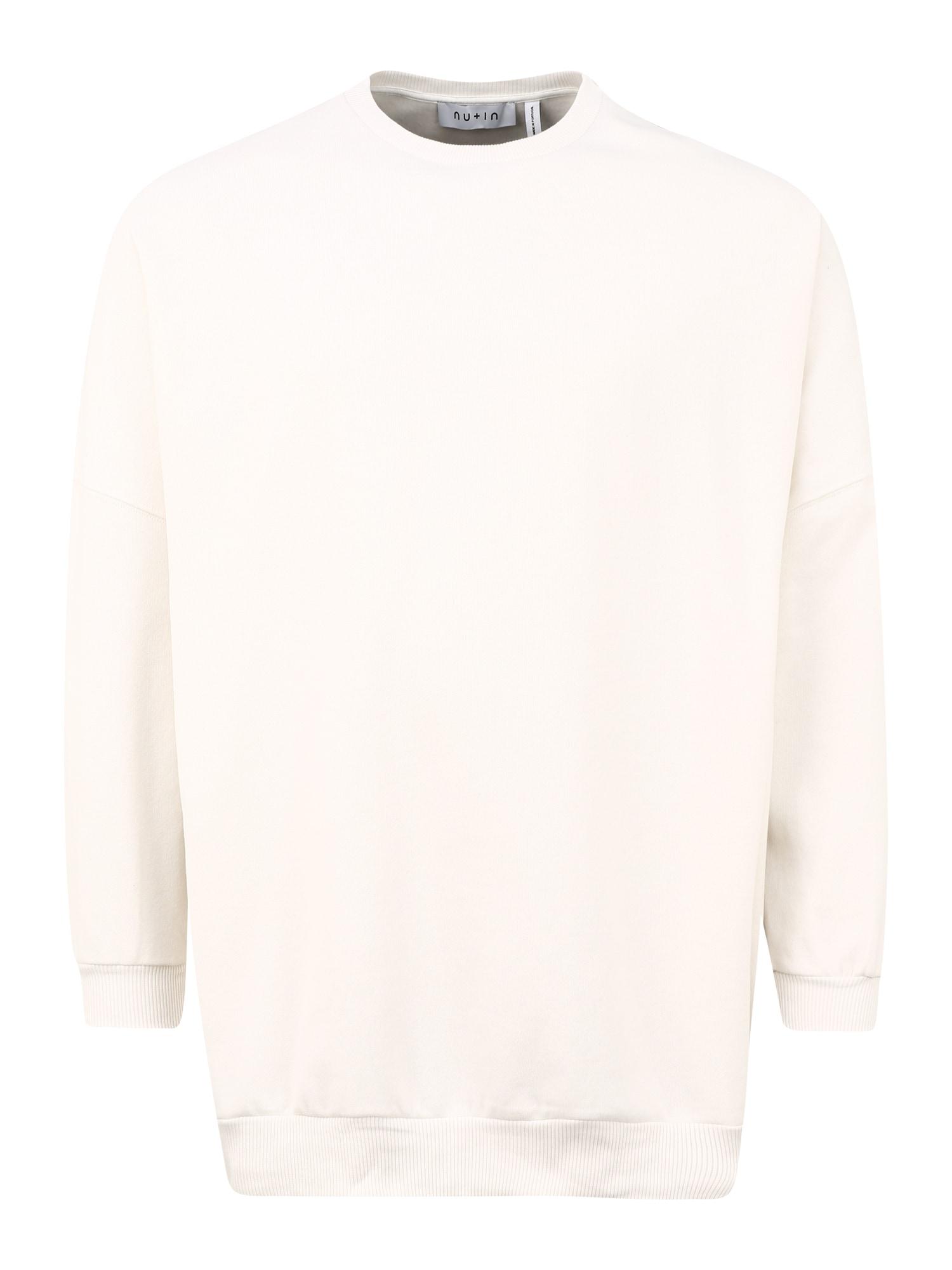 NU-IN Big & Tall Megztinis be užsegimo balta