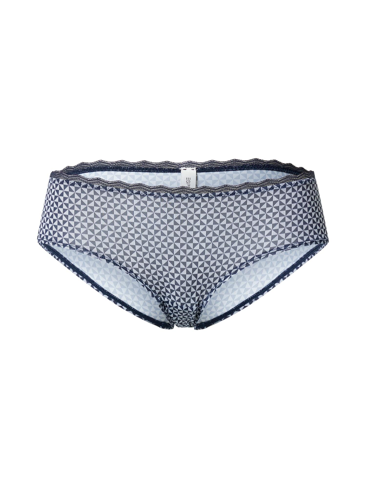 ESPRIT Kalhotky  námořnická modř / bílá