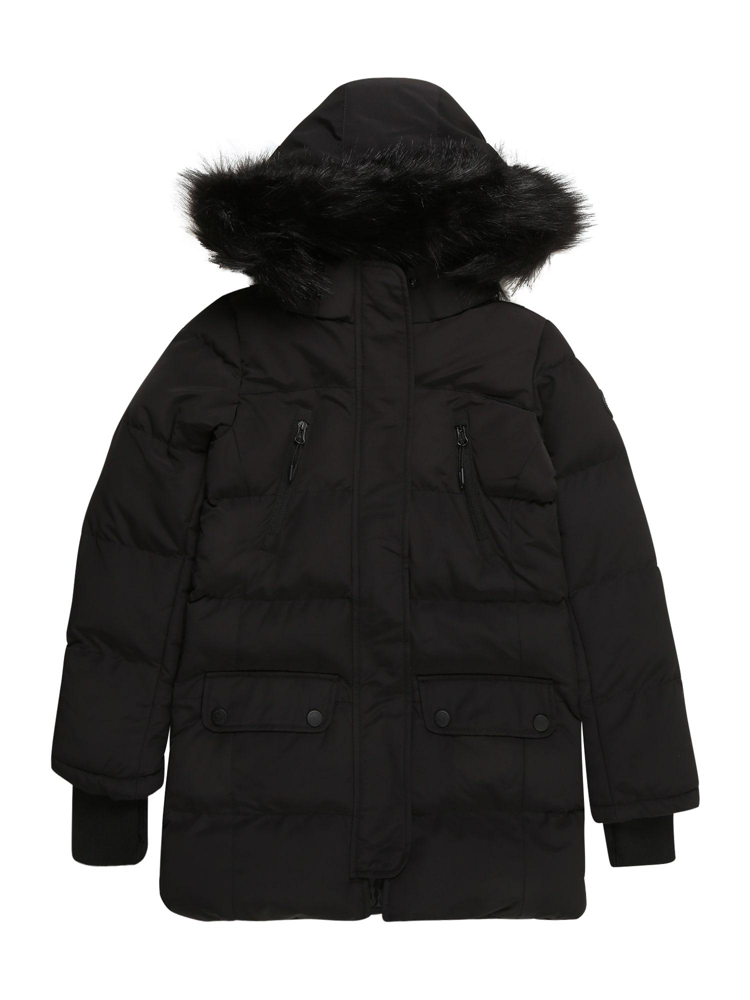 Cars Jeans Žieminė striukė 'FELISA' juoda