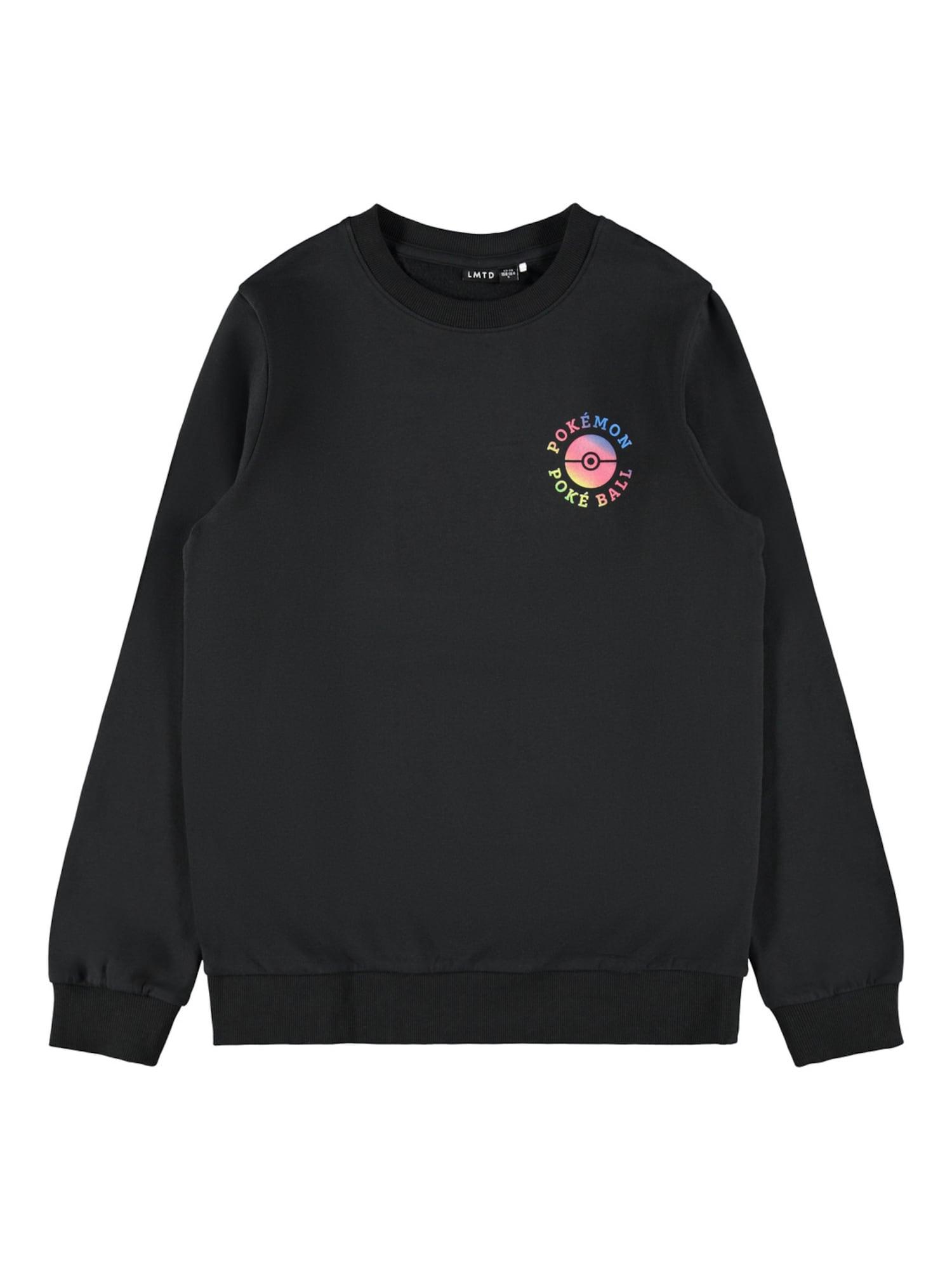 LMTD Megztinis be užsegimo juoda / neoninė rožinė / neoninė mėlyna / neoninė geltona