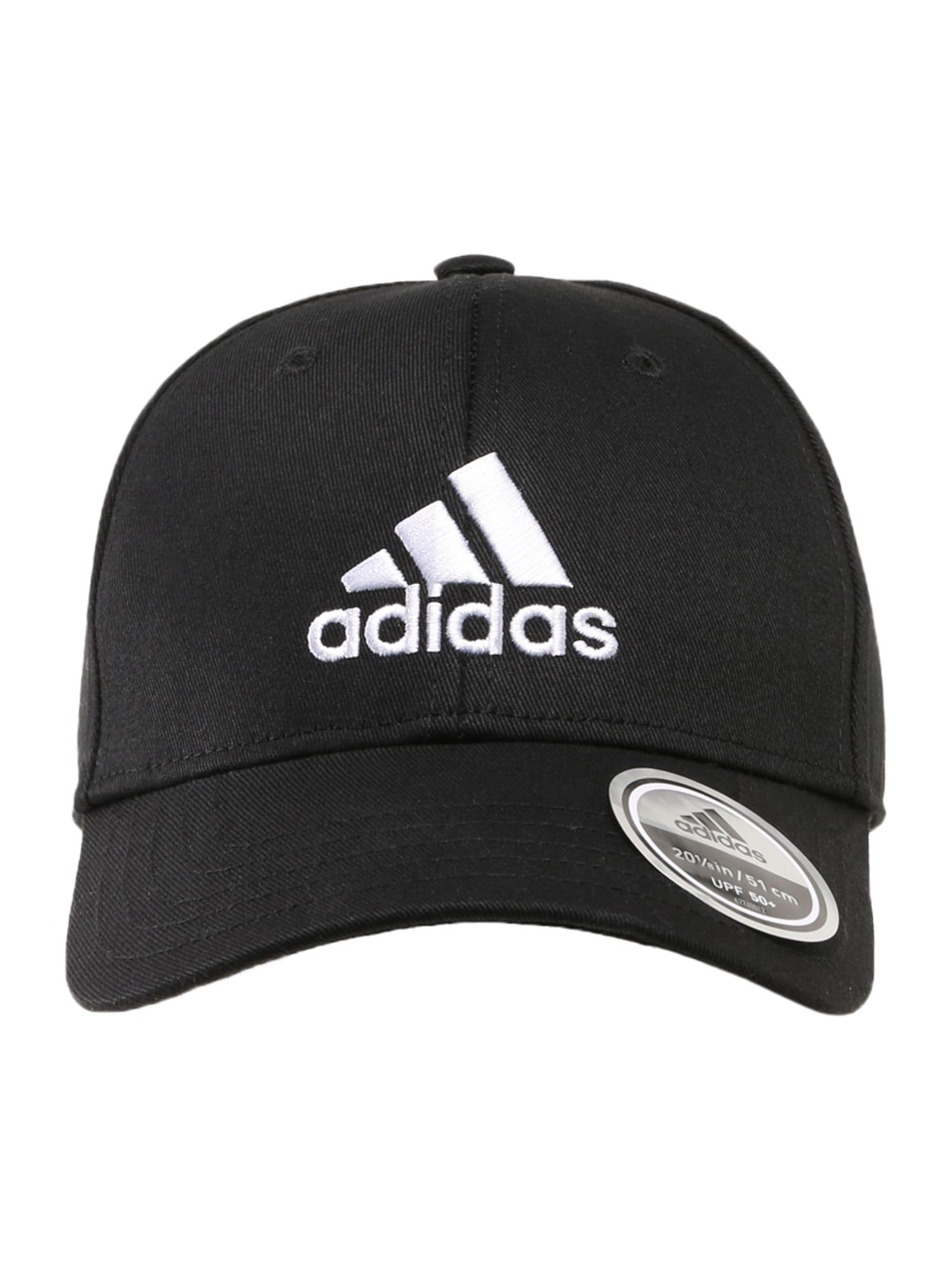 ADIDAS PERFORMANCE Sportinė kepurė balta / juoda