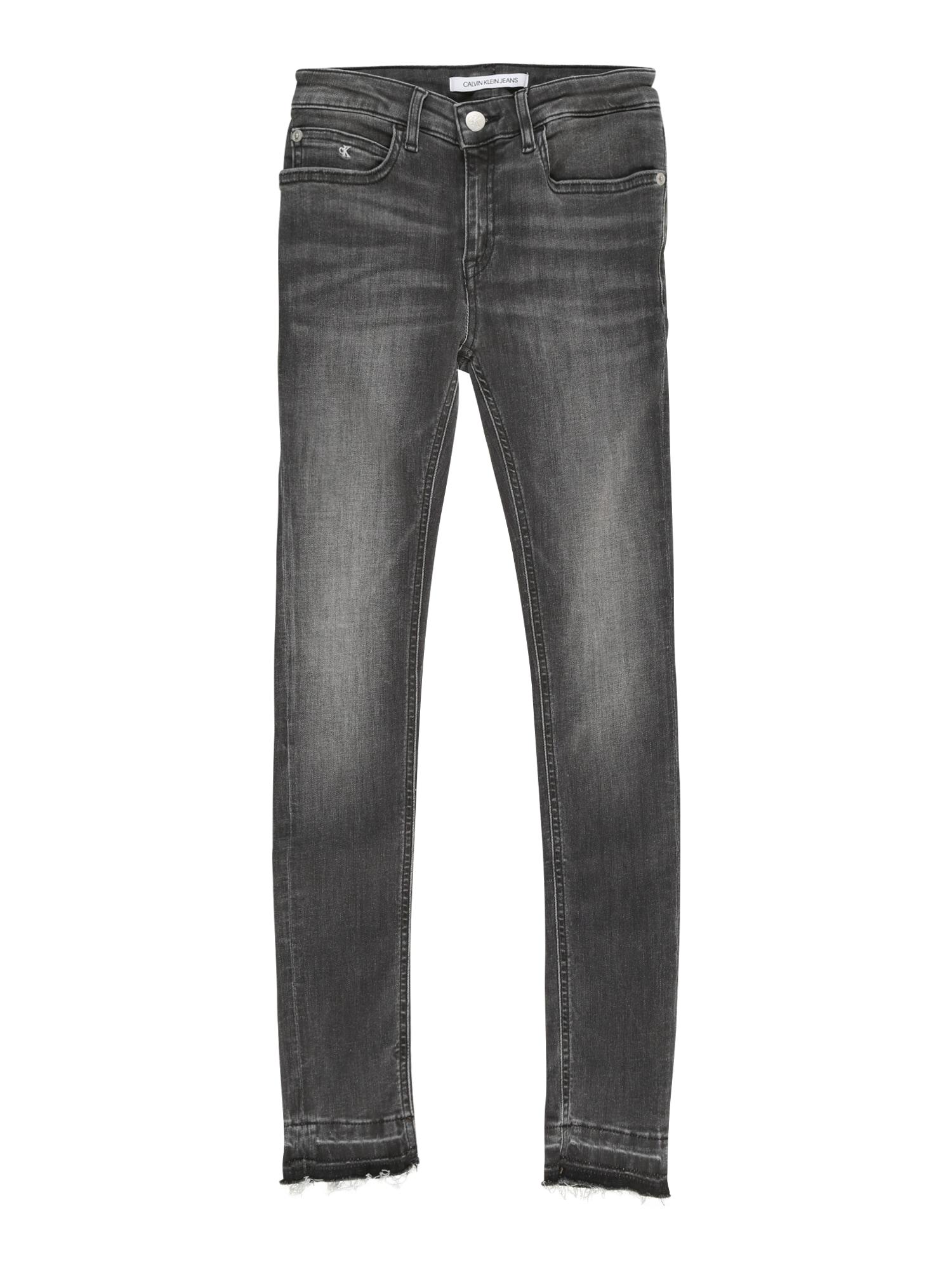 Calvin Klein Jeans Džíny 'INFINITE'  šedá džínová