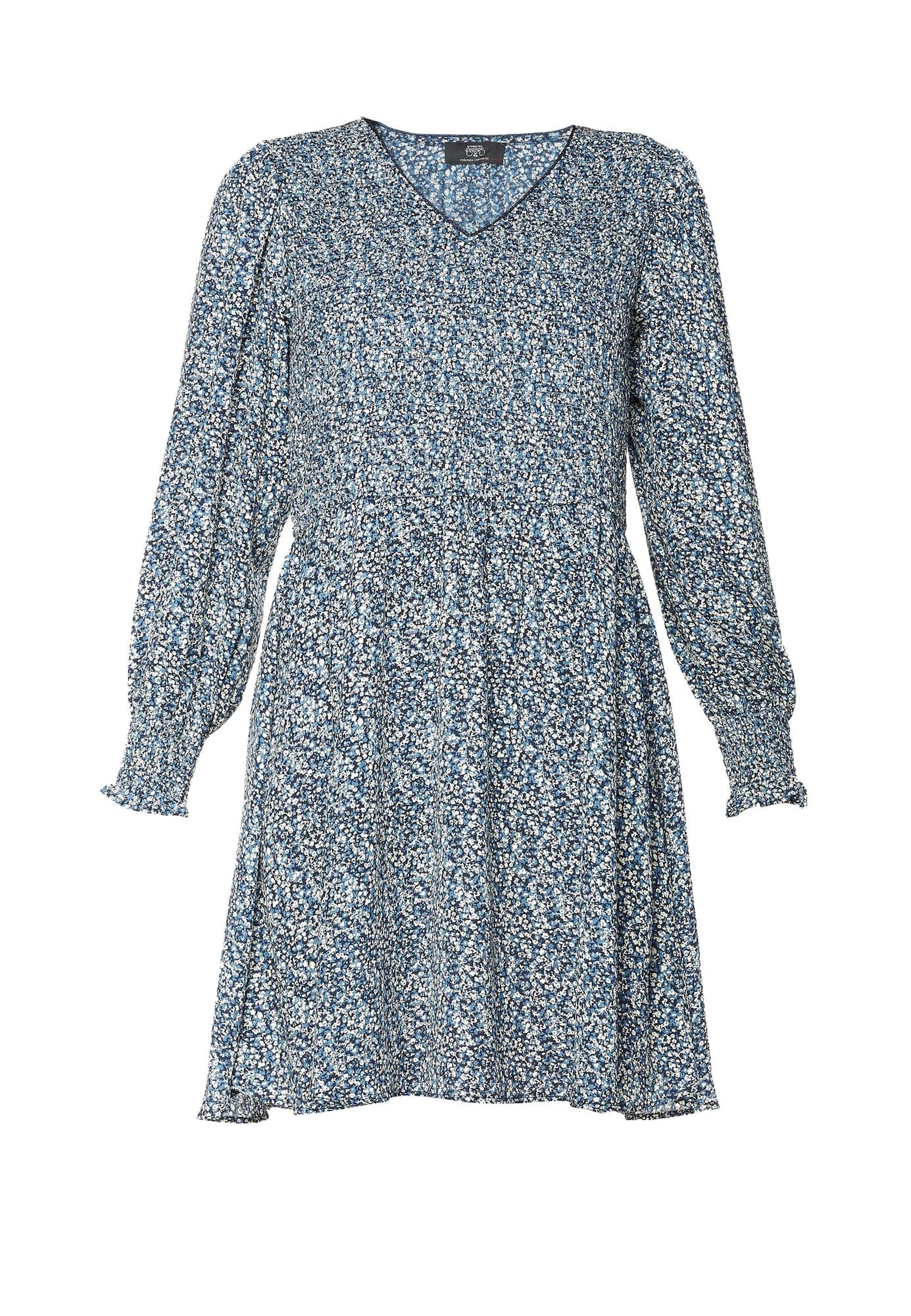 Le Temps Des Cerises Šaty  modrá / bílá
