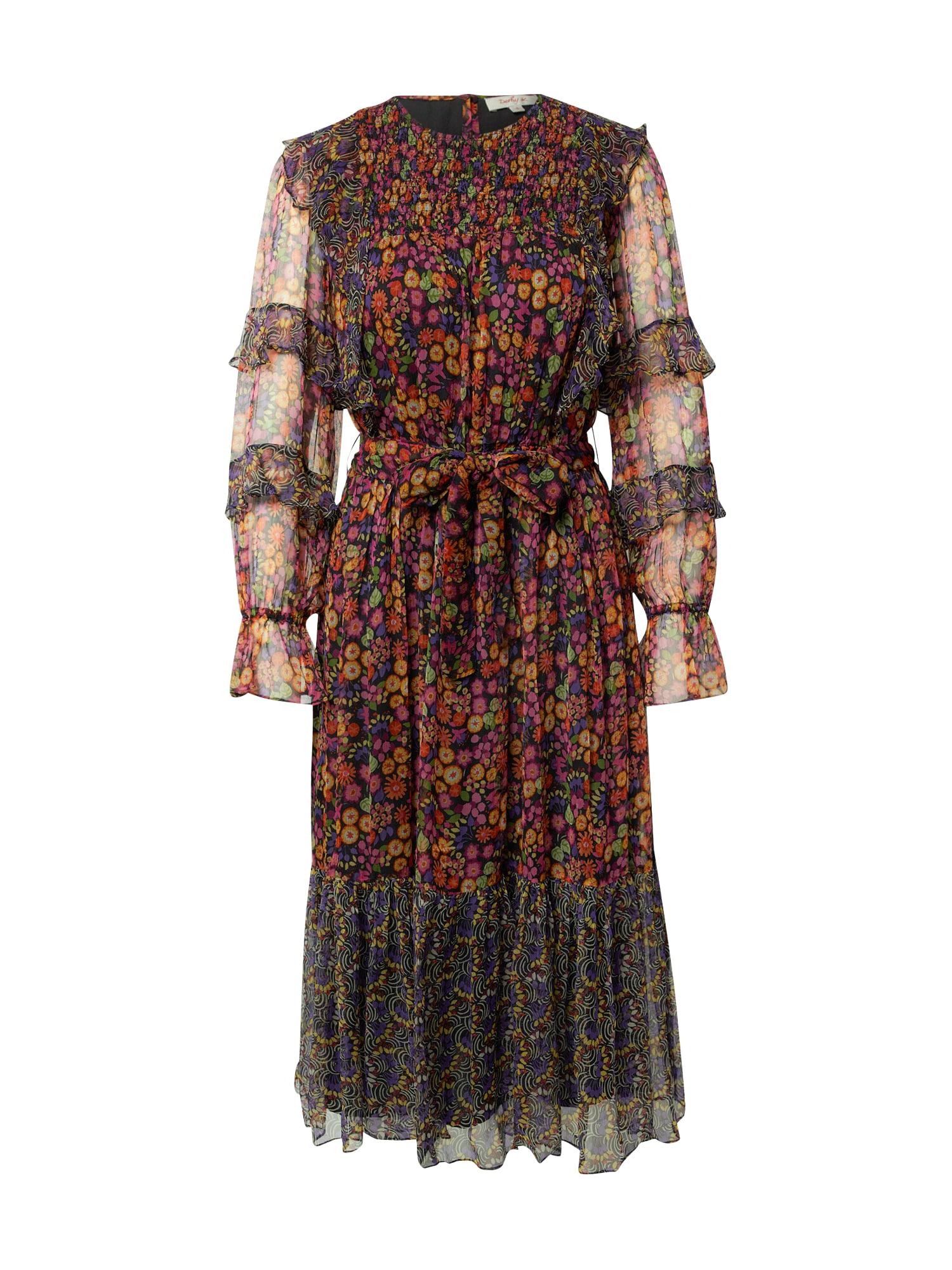 Derhy Palaidinės tipo suknelė juoda / mišrios spalvos