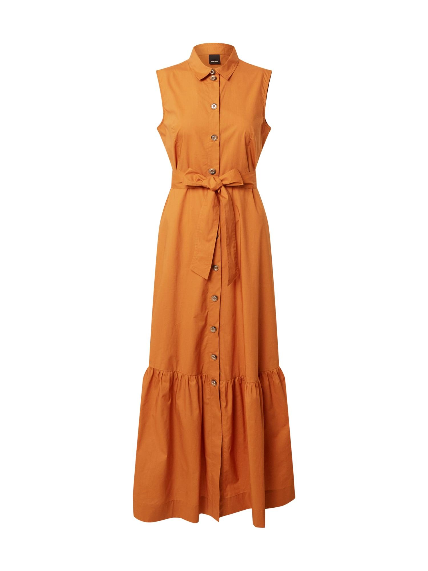 PINKO Palaidinės tipo suknelė