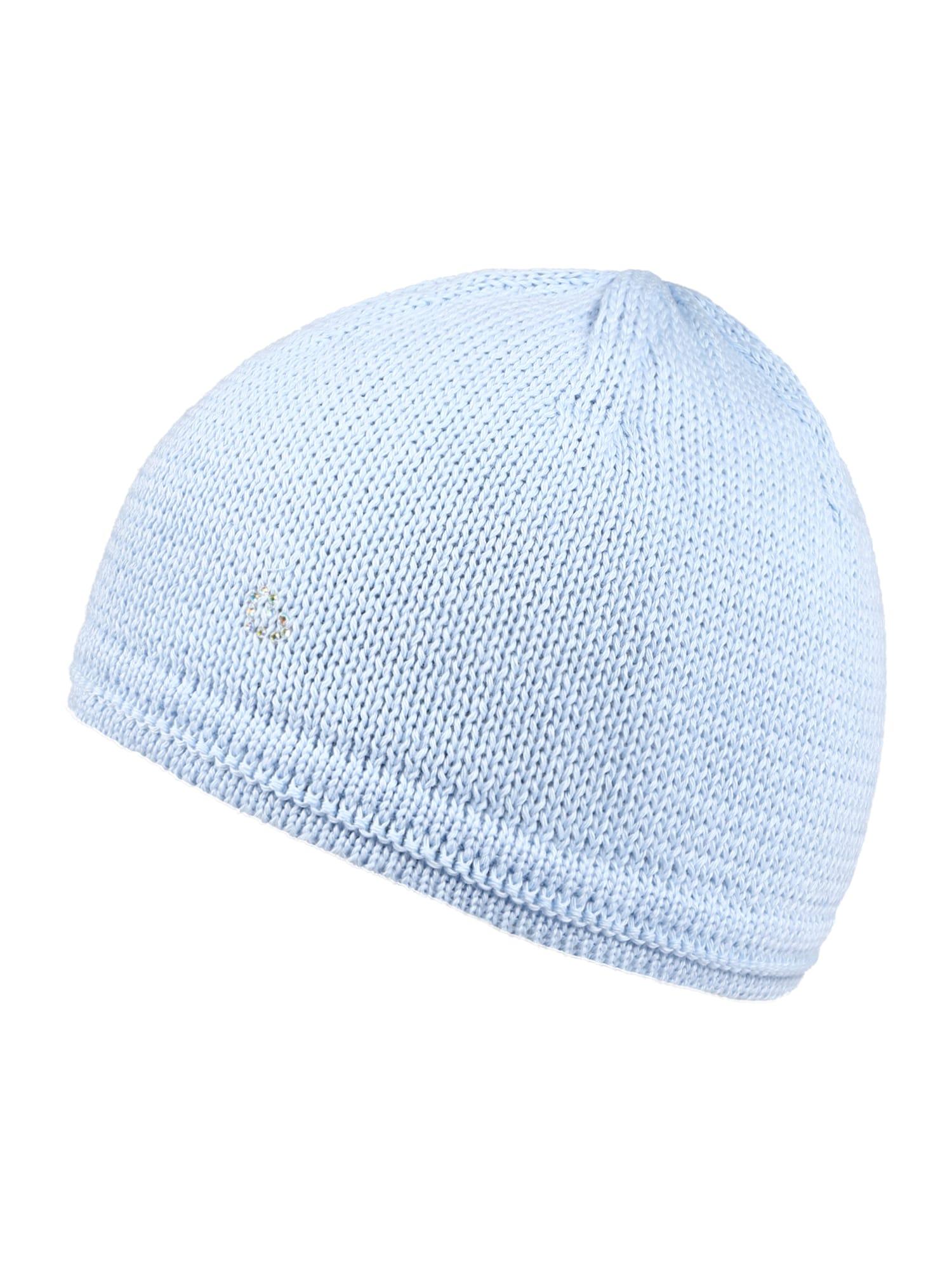 MAXIMO Megzta kepurė šviesiai mėlyna
