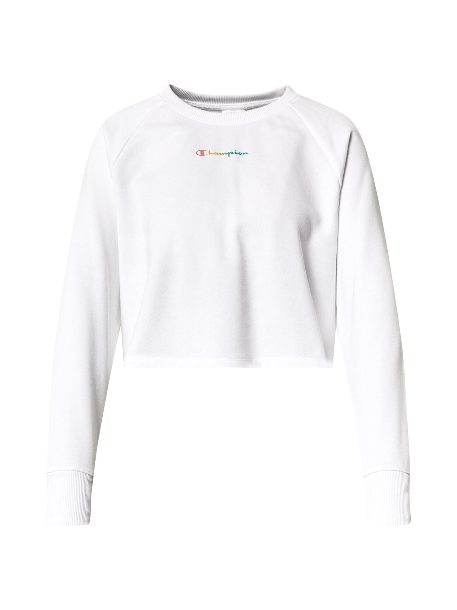 Champion Authentic Athletic Apparel Megztinis be užsegimo balta / mišrios spalvos
