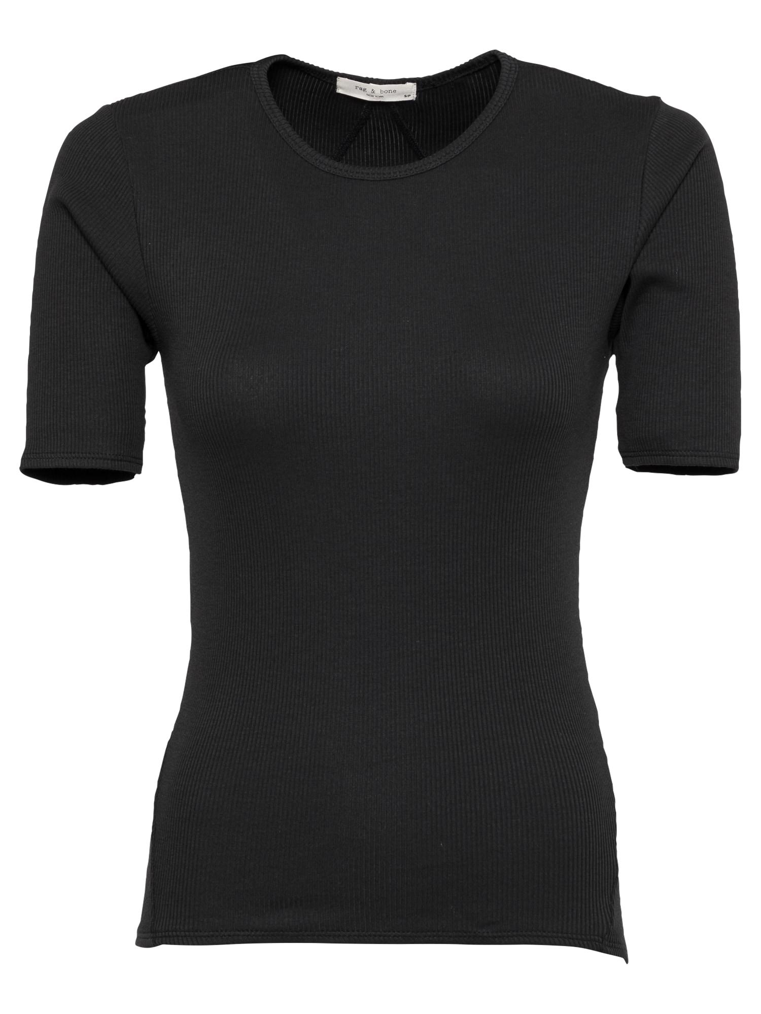 rag & bone Marškinėliai juoda