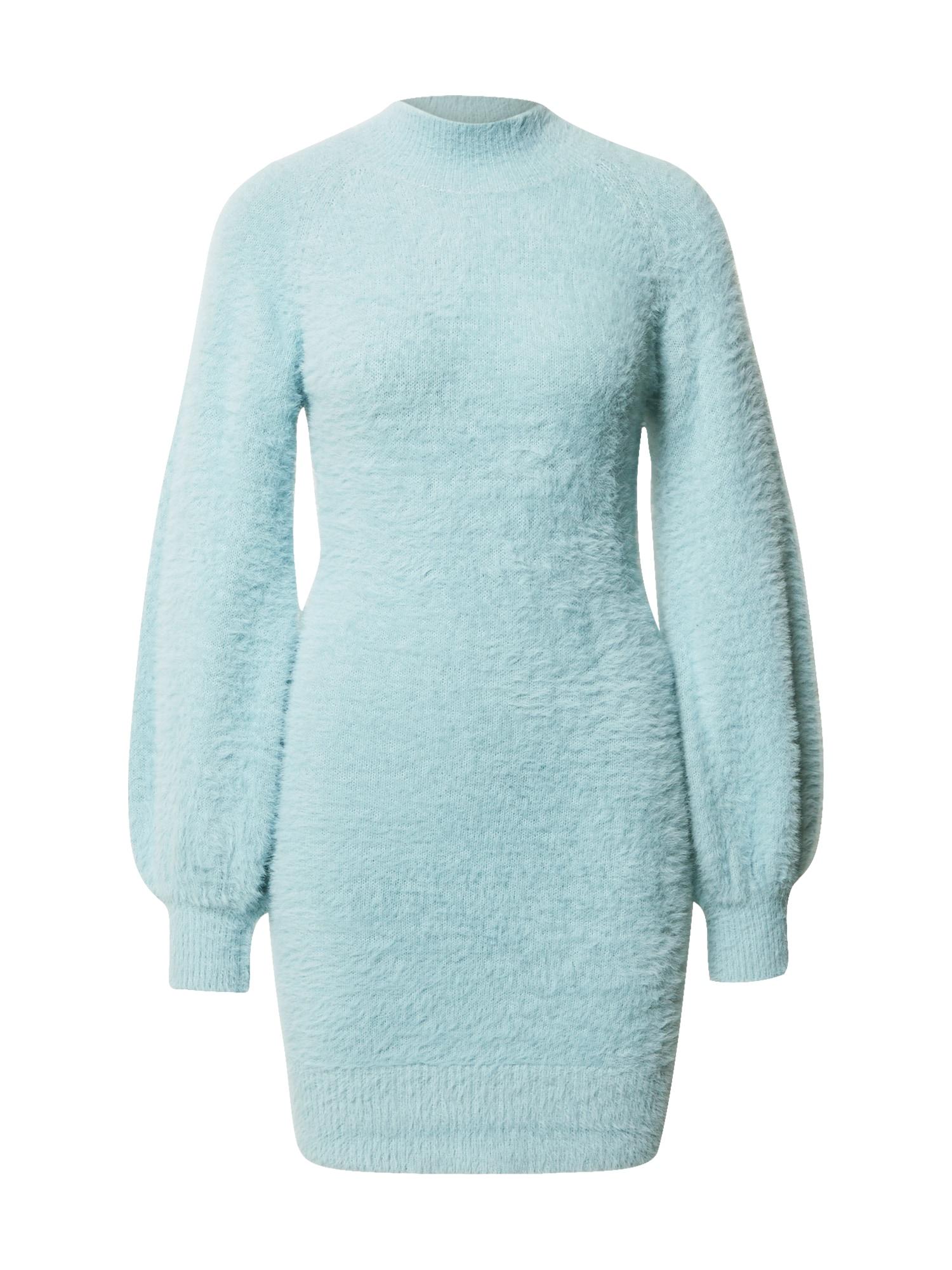 Bardot Úpletové šaty 'Bell'  světlemodrá