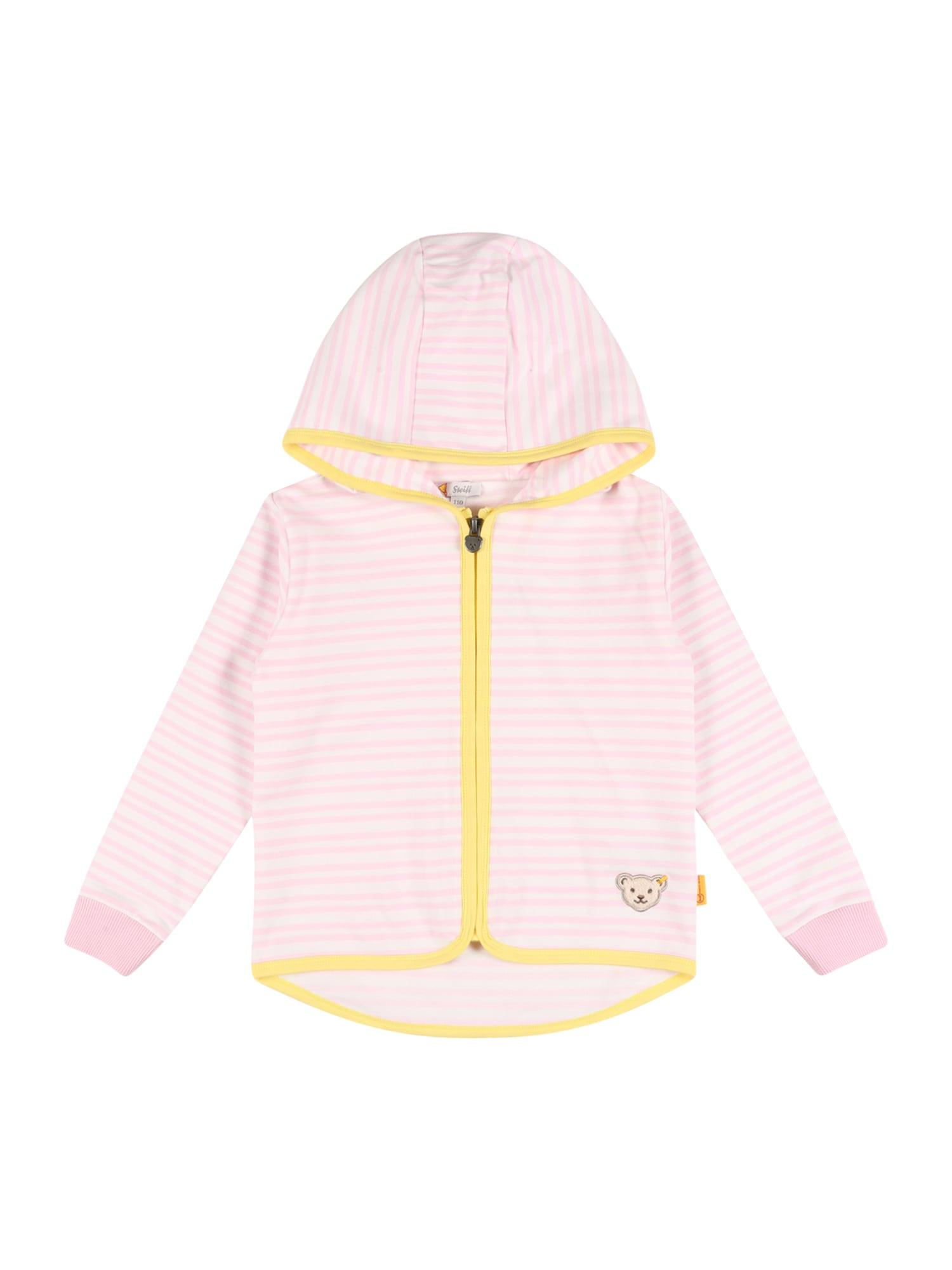 Steiff Collection Džemperis šviesiai rožinė / geltona / balta