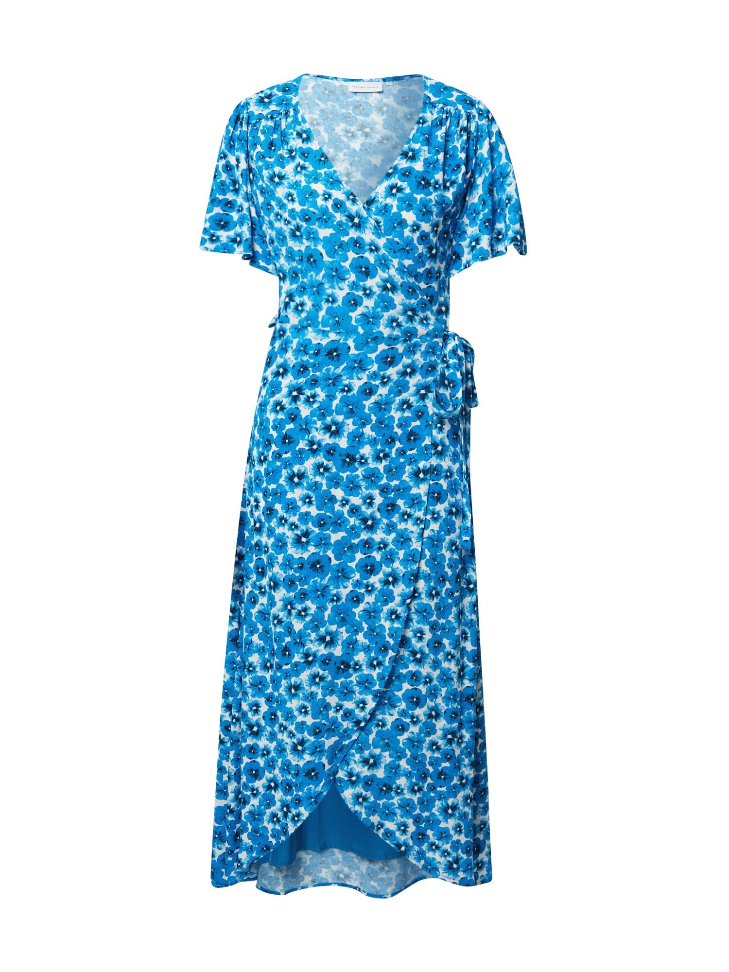 Fabienne Chapot Šaty 'Archana'  bílá / královská modrá