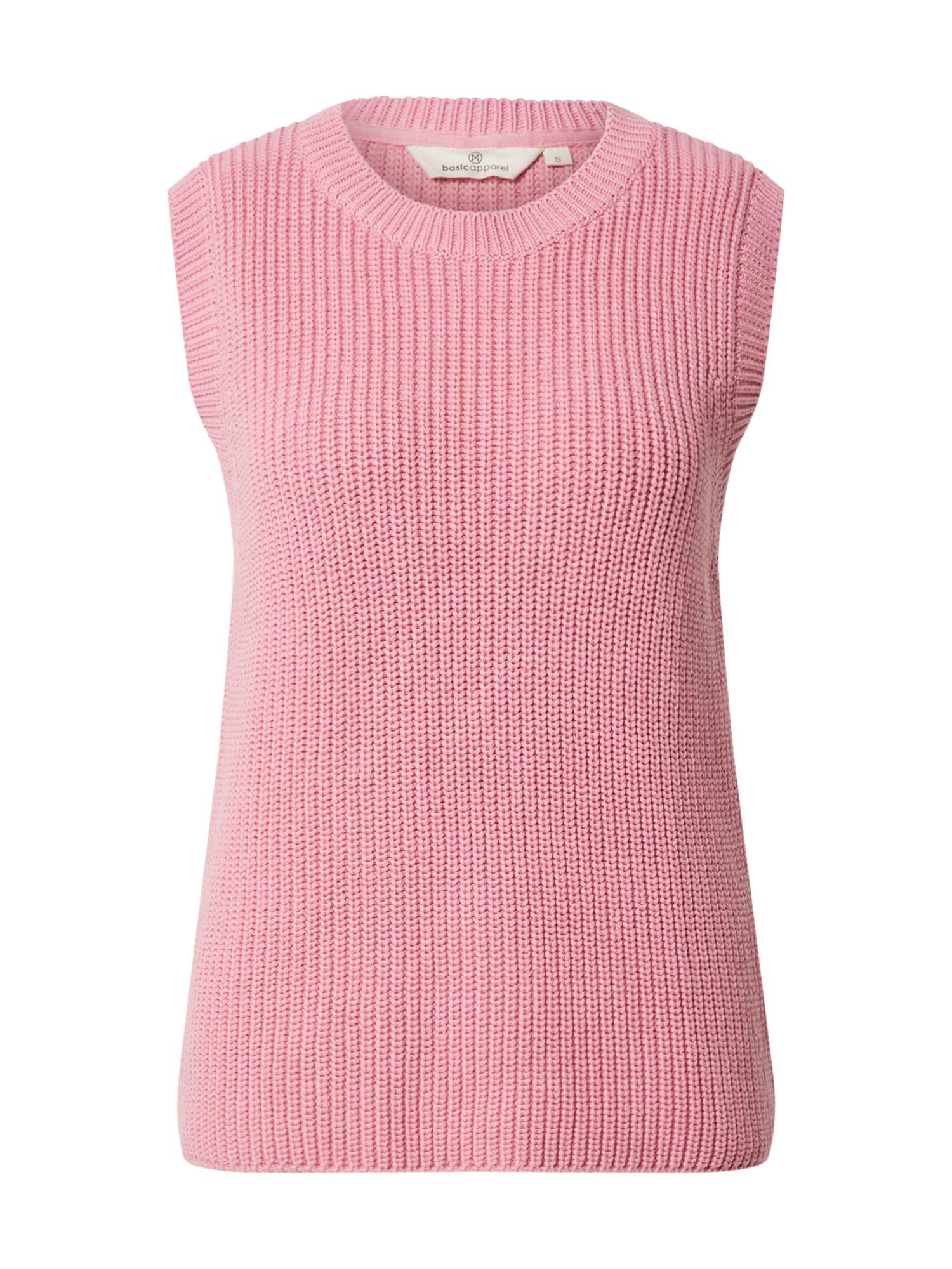 basic apparel Megztinis rožinė