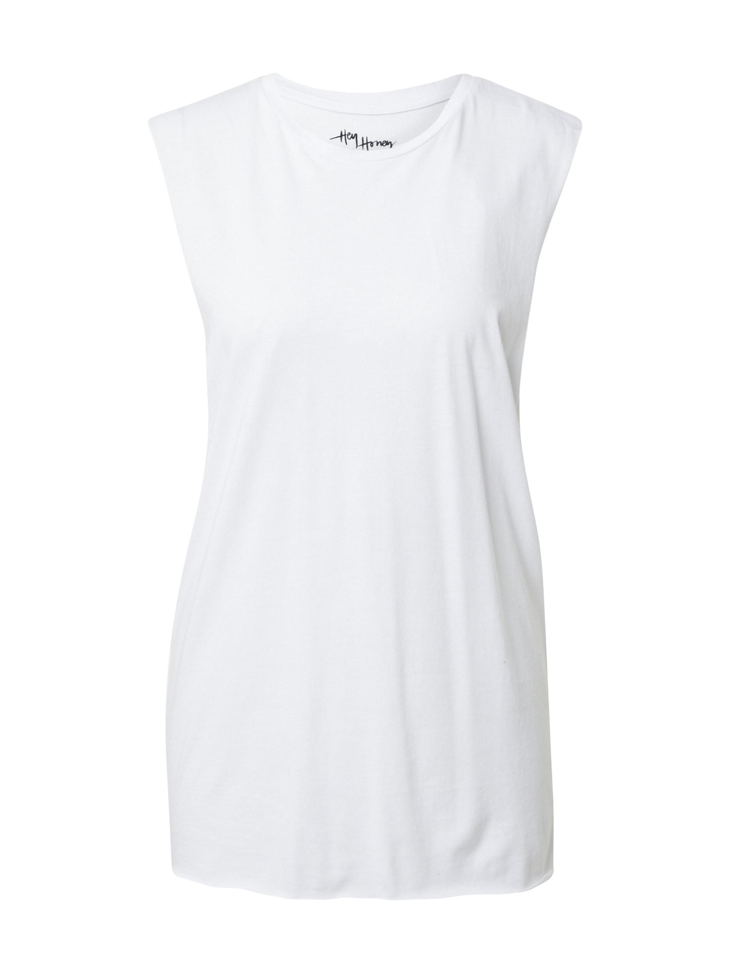 Hey Honey Sportiniai marškinėliai be rankovių balta / juoda / mišrios spalvos