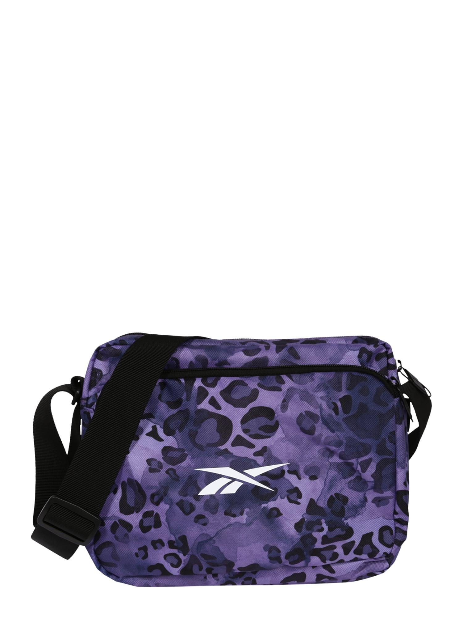 REEBOK Sportinis krepšys purpurinė / juoda / balta