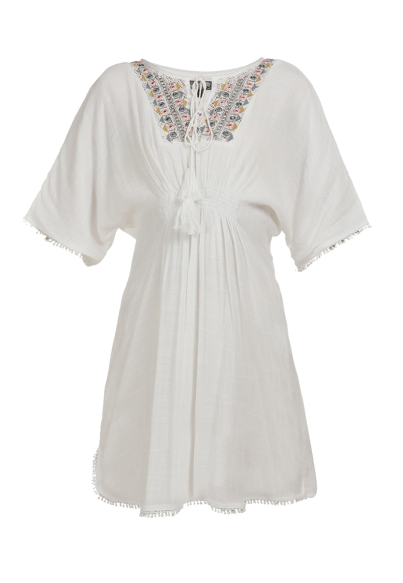 DreiMaster Vintage Vasarinė suknelė mišrios spalvos / natūrali balta