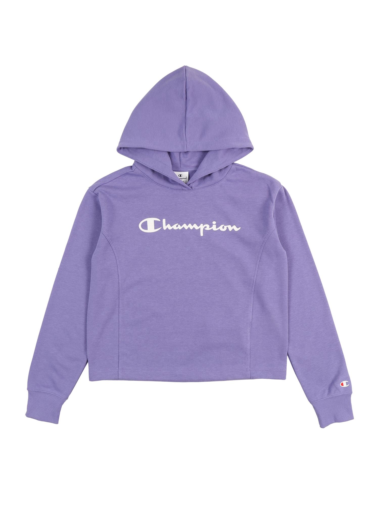 Champion Authentic Athletic Apparel Megztinis be užsegimo purpurinė / balta