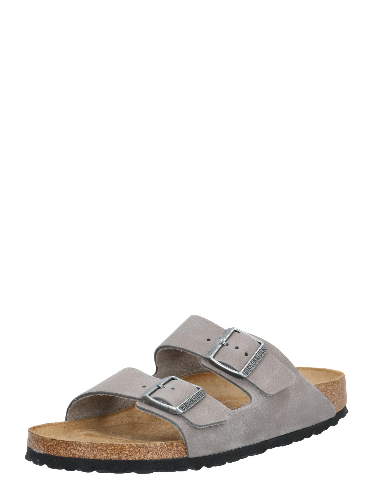 BIRKENSTOCK Pantofle 'Arizona'  šedá