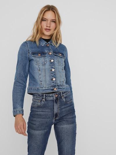 Vero Moda Faith langärmelige Slim-Fit-Jeansjacke