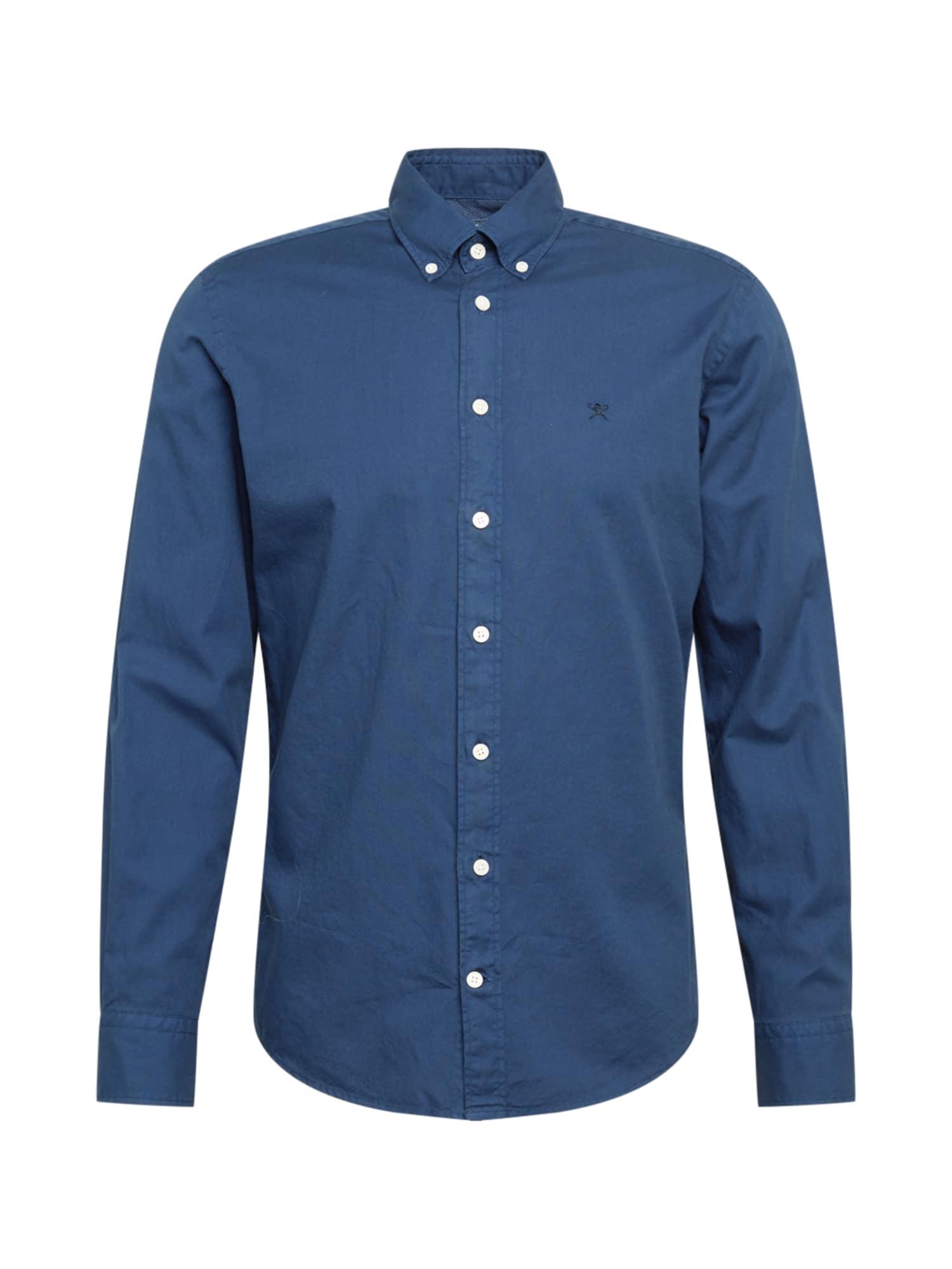 Hackett London Marškiniai tamsiai mėlyna