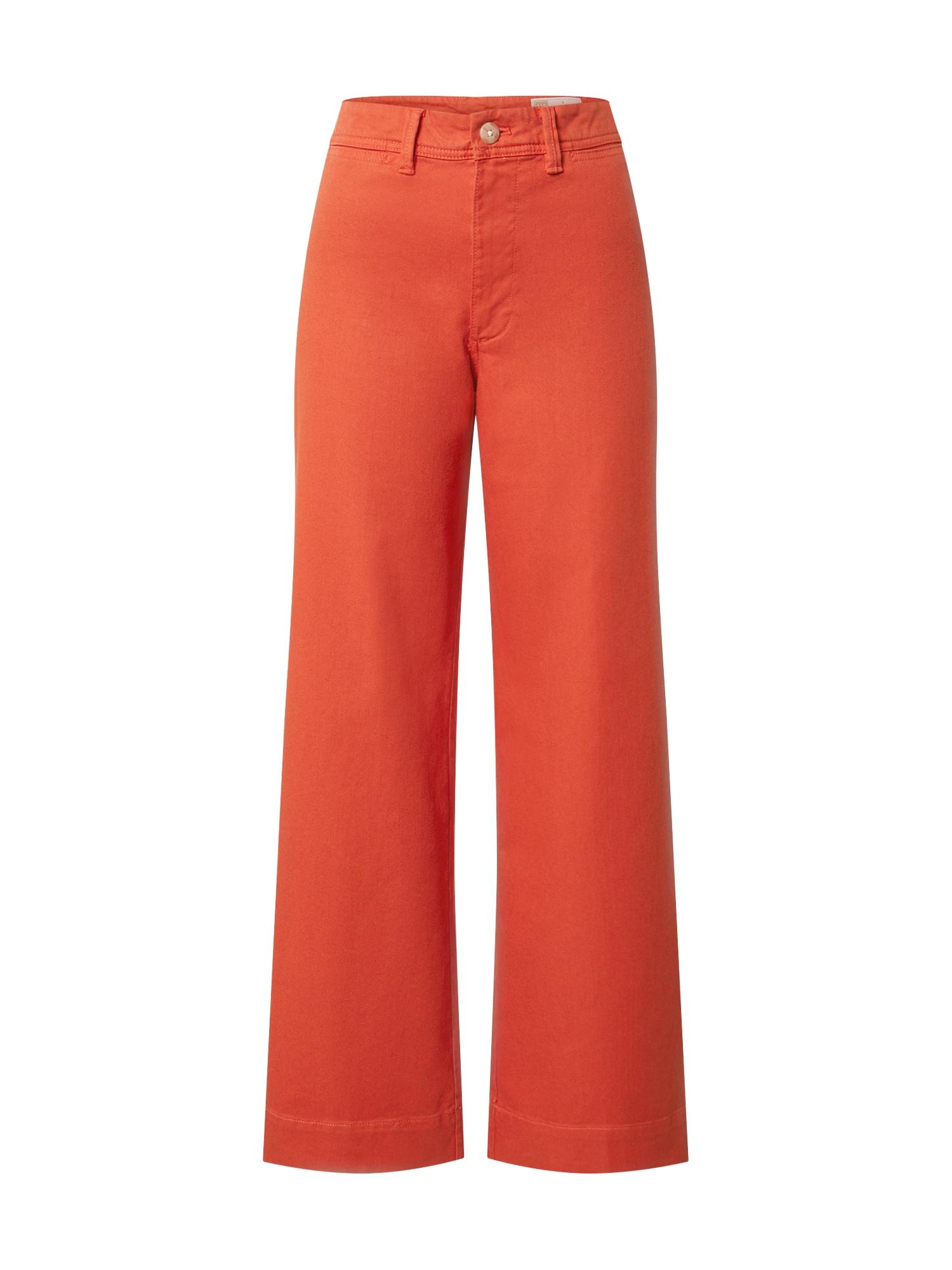 GAP Kelnės tamsiai oranžinė