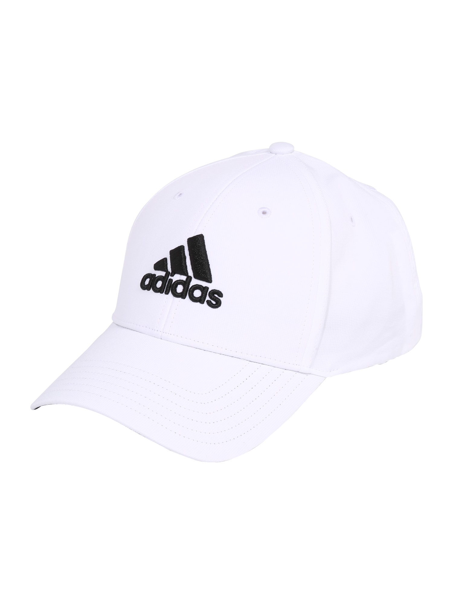 adidas Golf Sportinė kepurė balta / juoda