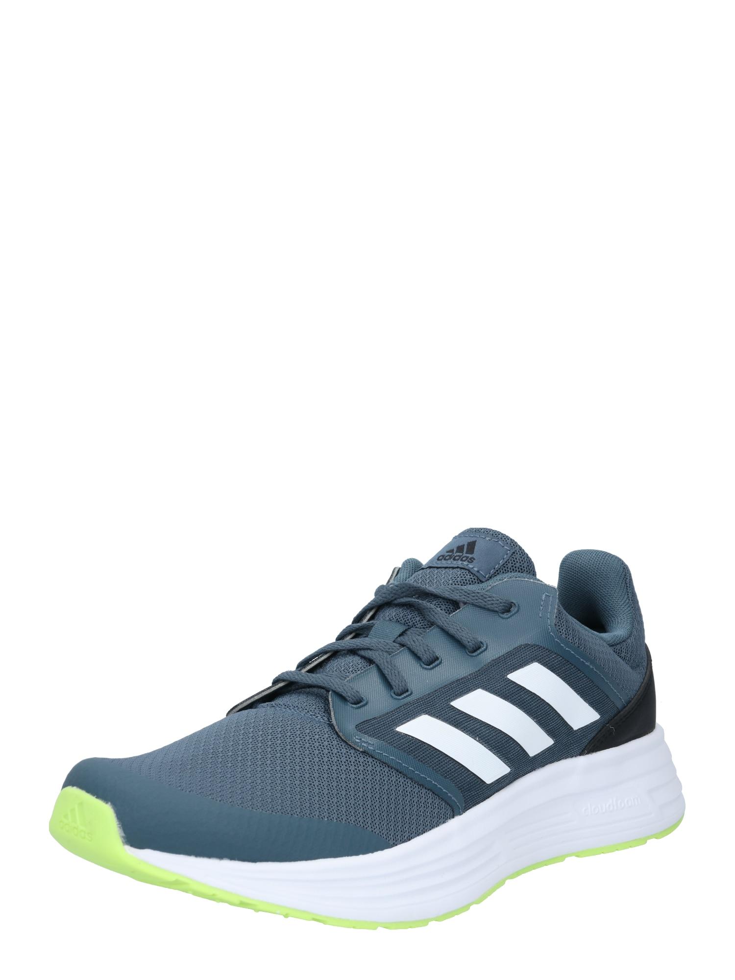 ADIDAS PERFORMANCE Běžecká obuv 'GALAXY 5'  bílá / tmavě modrá