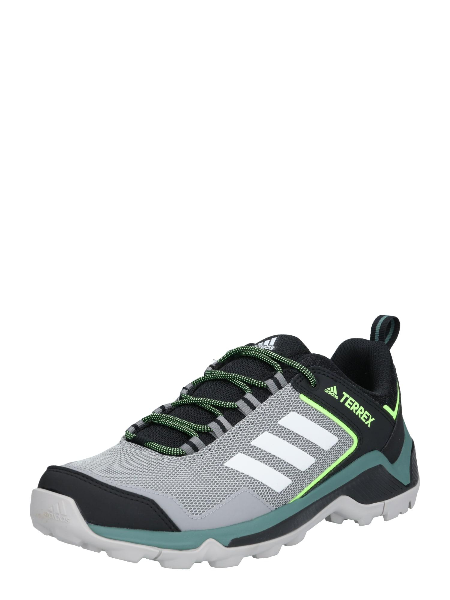 ADIDAS PERFORMANCE Sportiniai batai pilka / antracito / neoninė žalia / balta