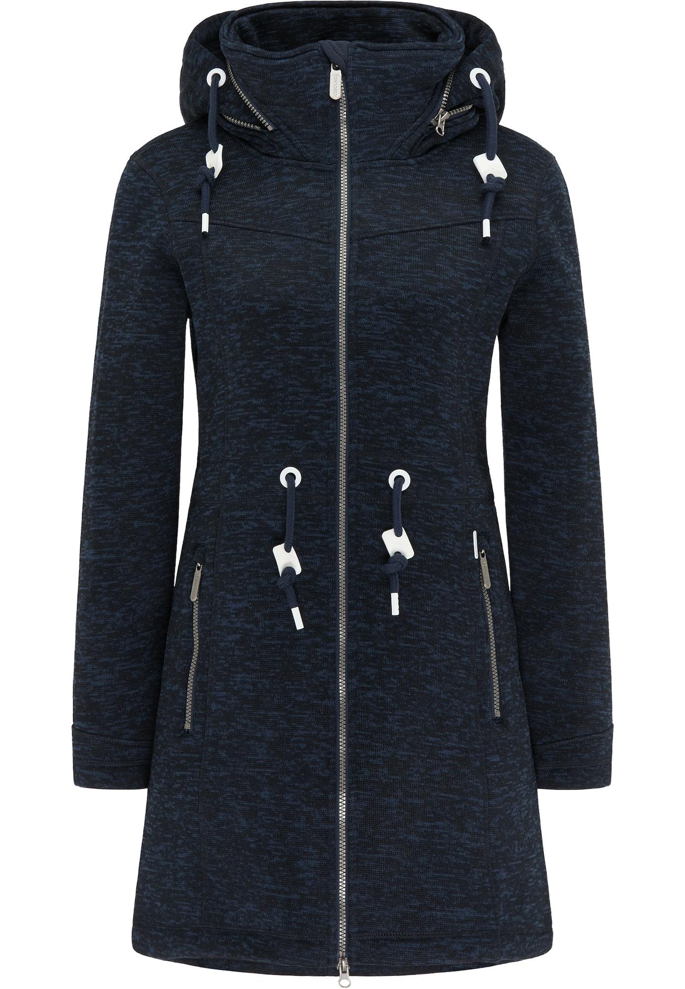 ICEBOUND Demisezoninis paltas tamsiai mėlyna jūros spalva