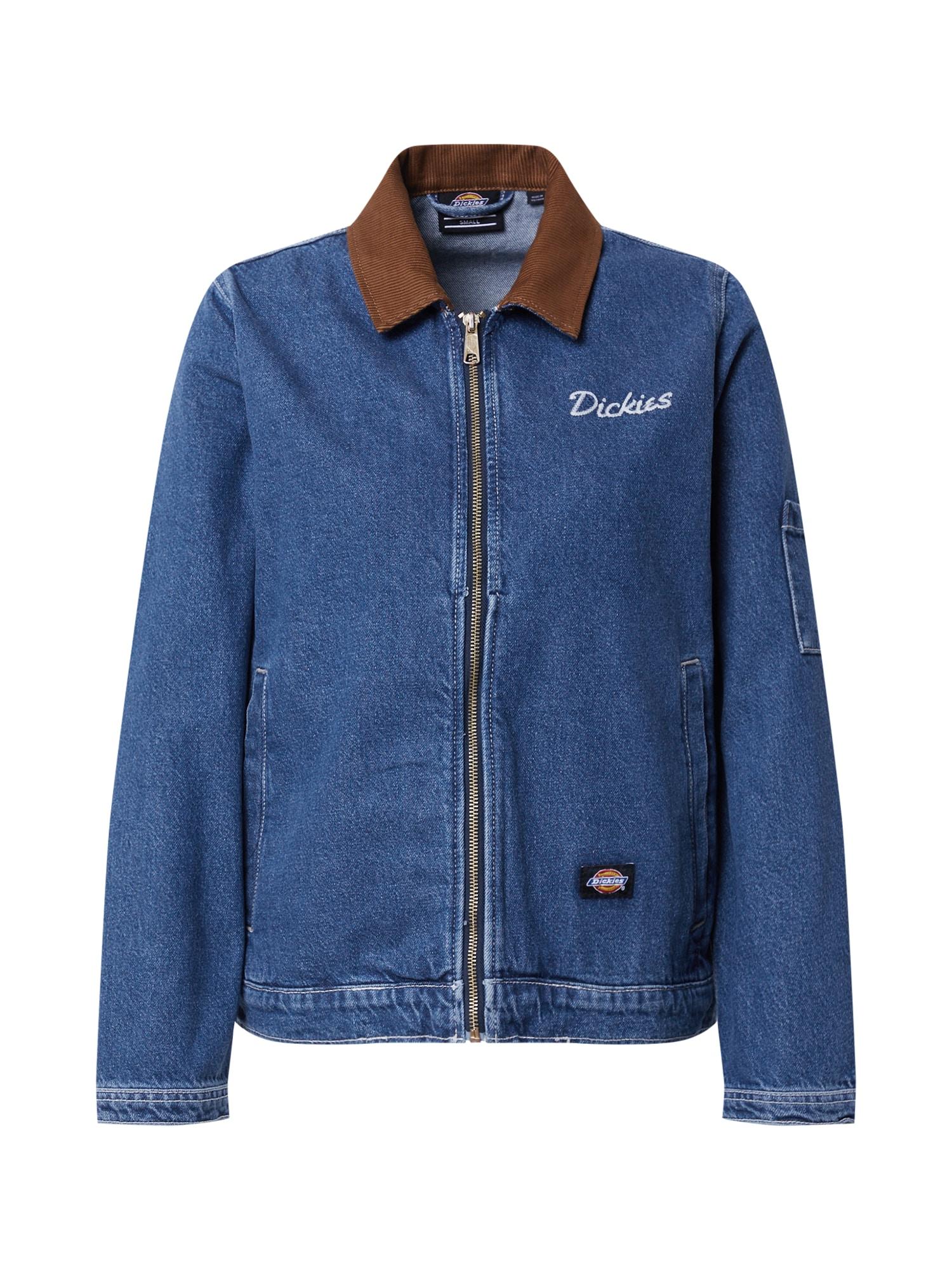 DICKIES Demisezoninė striukė 'Halma Eisenhower' tamsiai (džinso) mėlyna