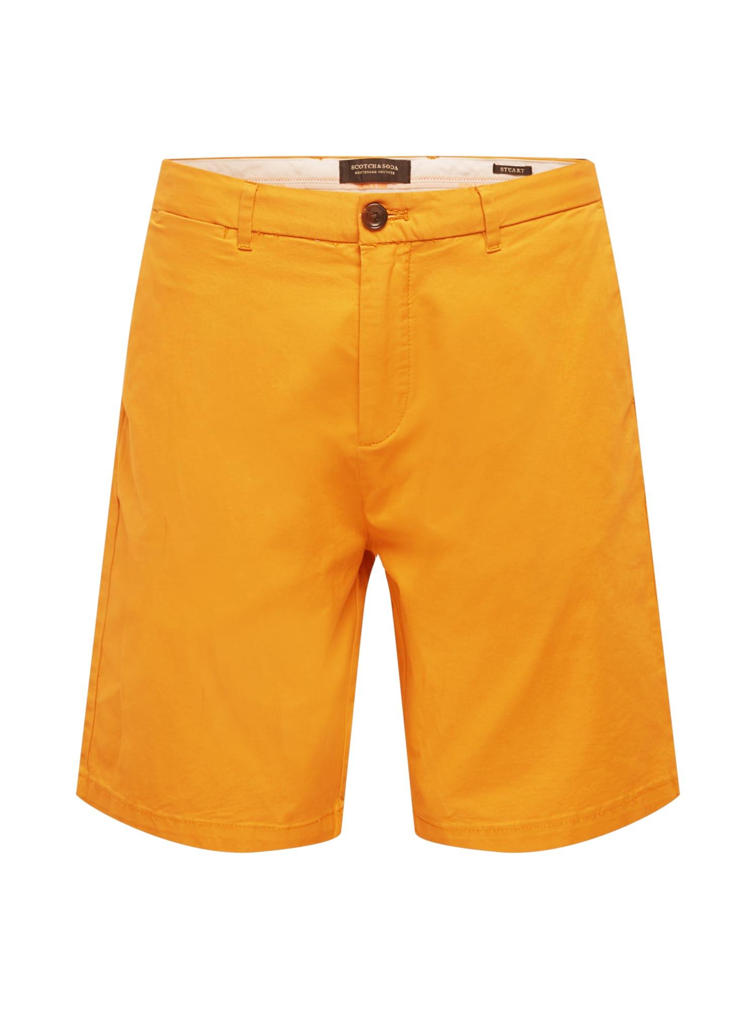 SCOTCH & SODA Chino kalhoty 'STUART'  tmavě oranžová