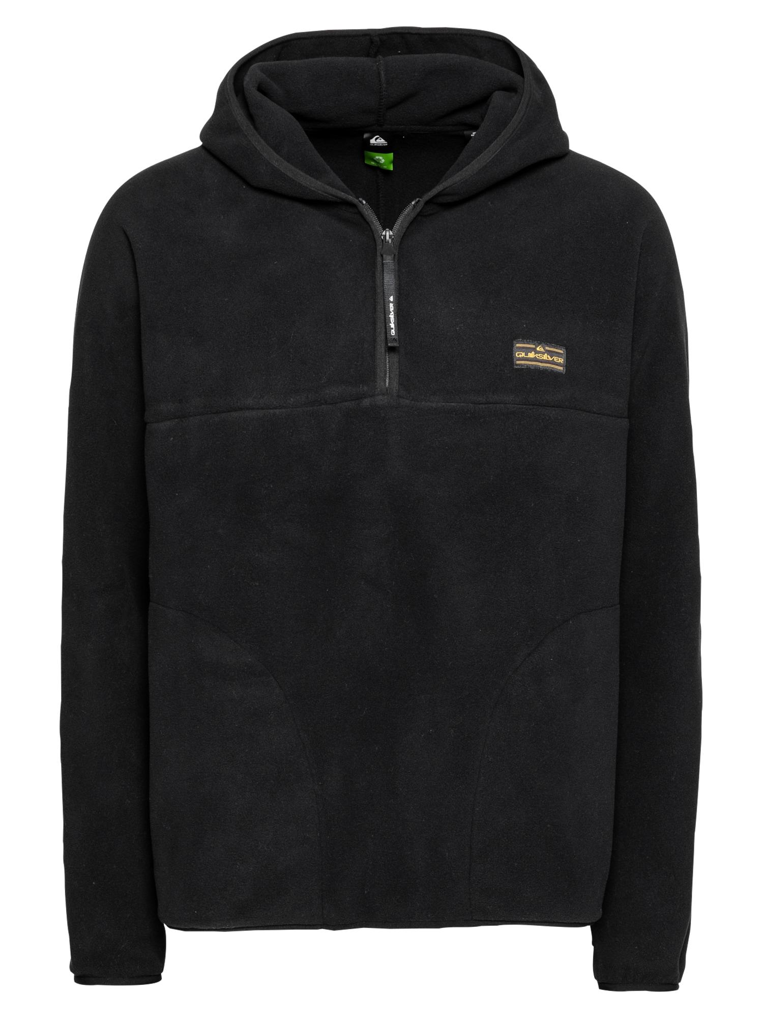 QUIKSILVER Sportinis megztinis juoda