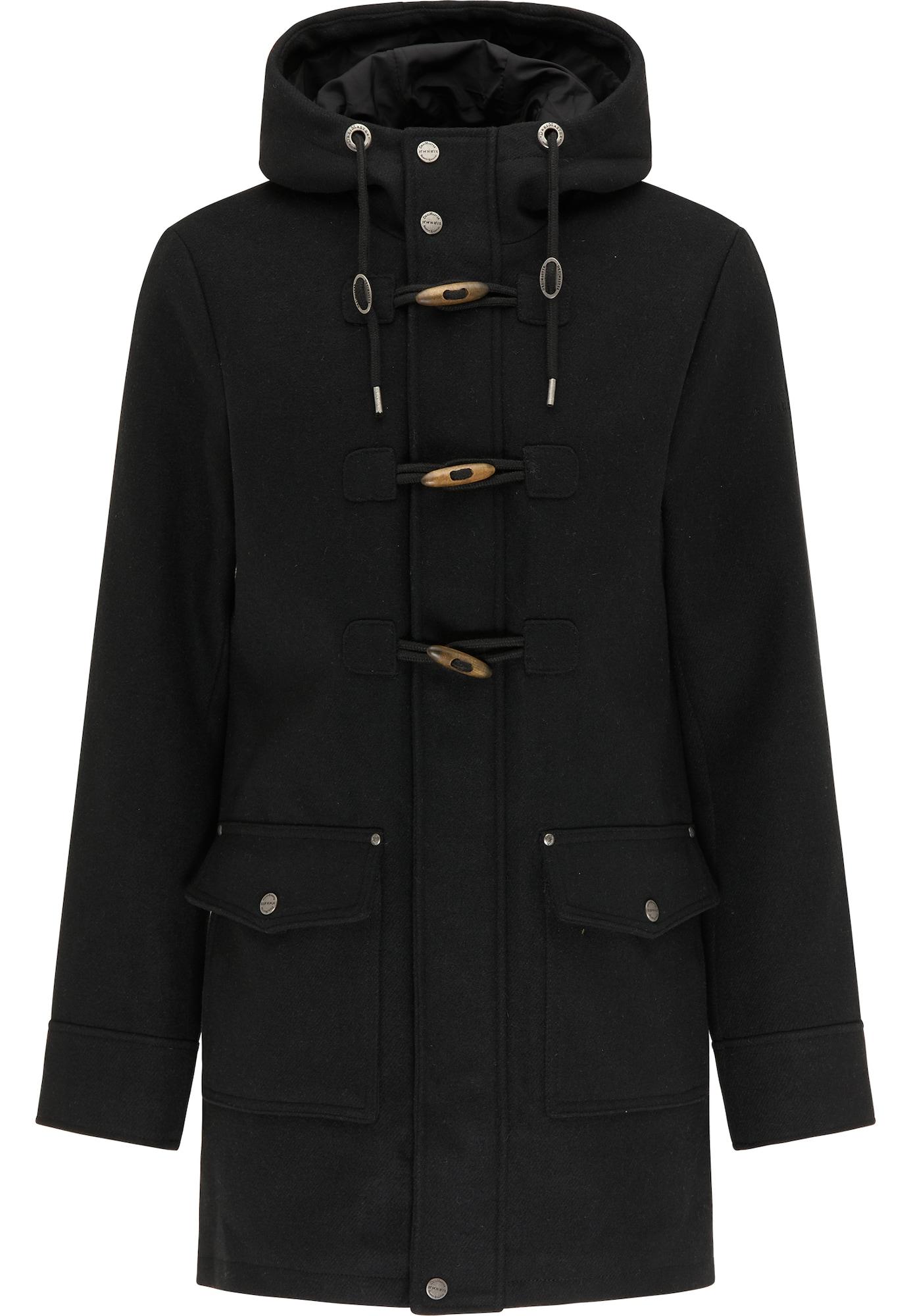 DreiMaster Klassik Demisezoninis paltas juoda