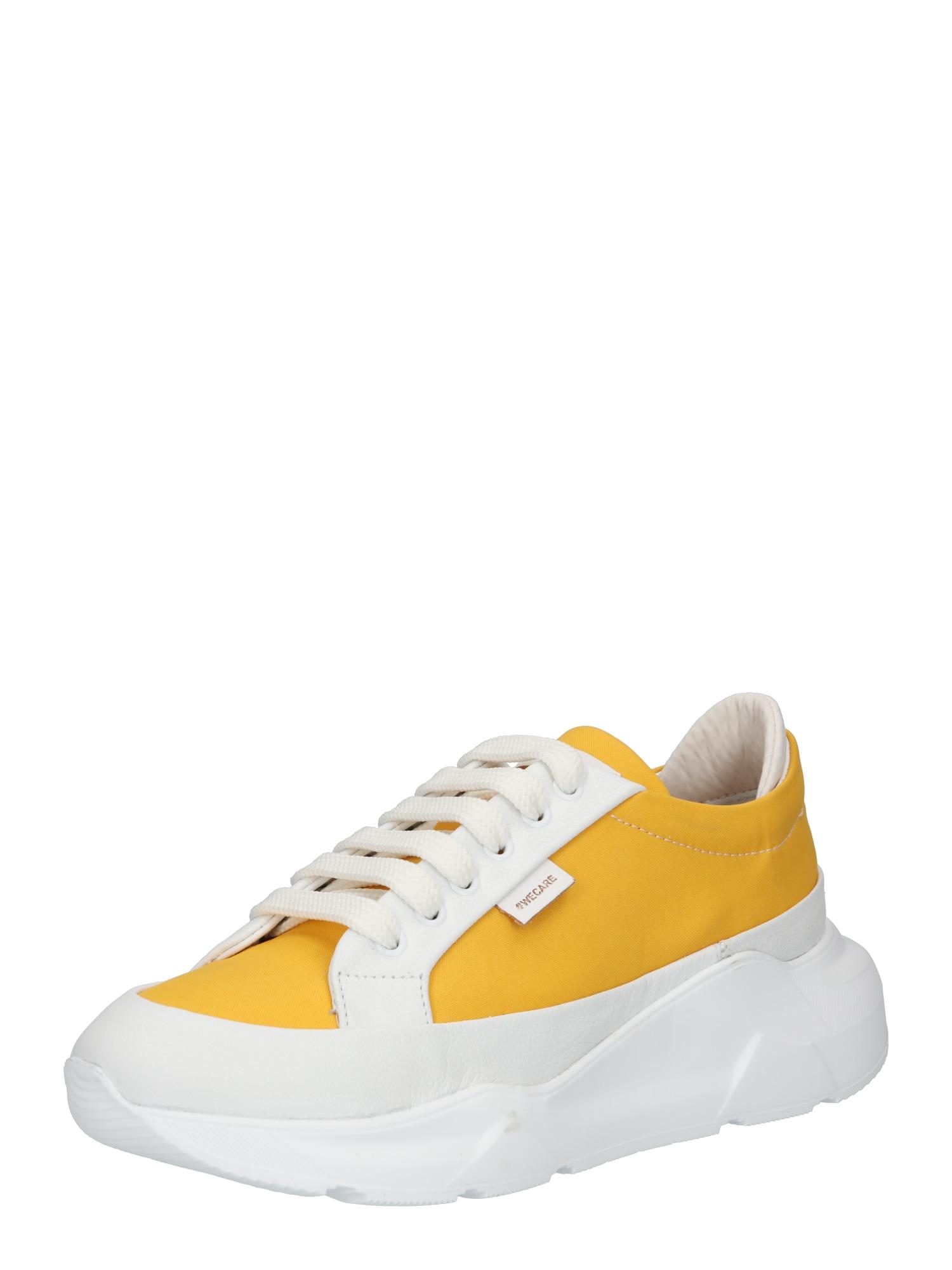 Greyderlab Sportbačiai be auliuko balta / aukso geltonumo spalva
