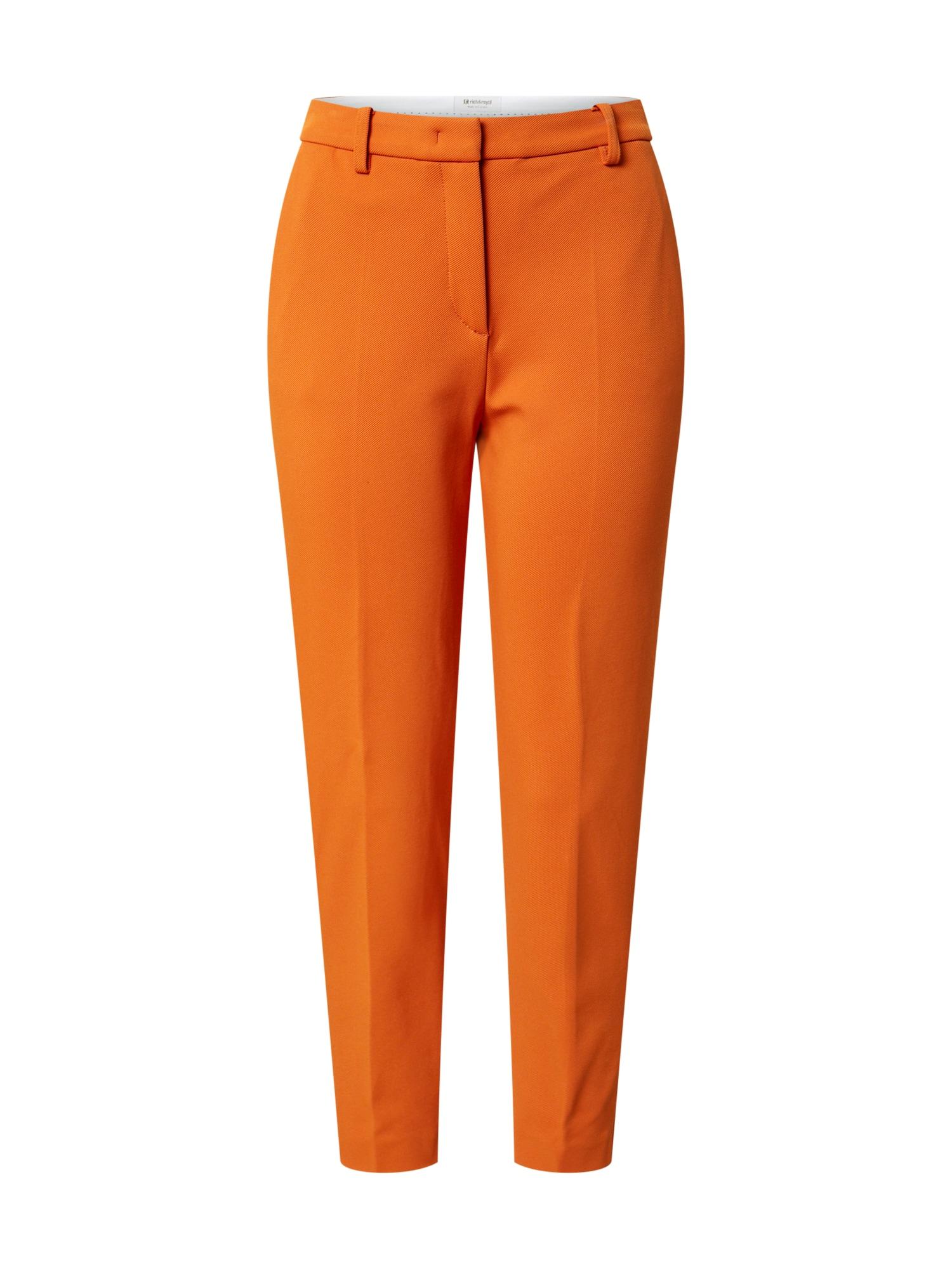 Rich & Royal Kelnės su kantu oranžinė