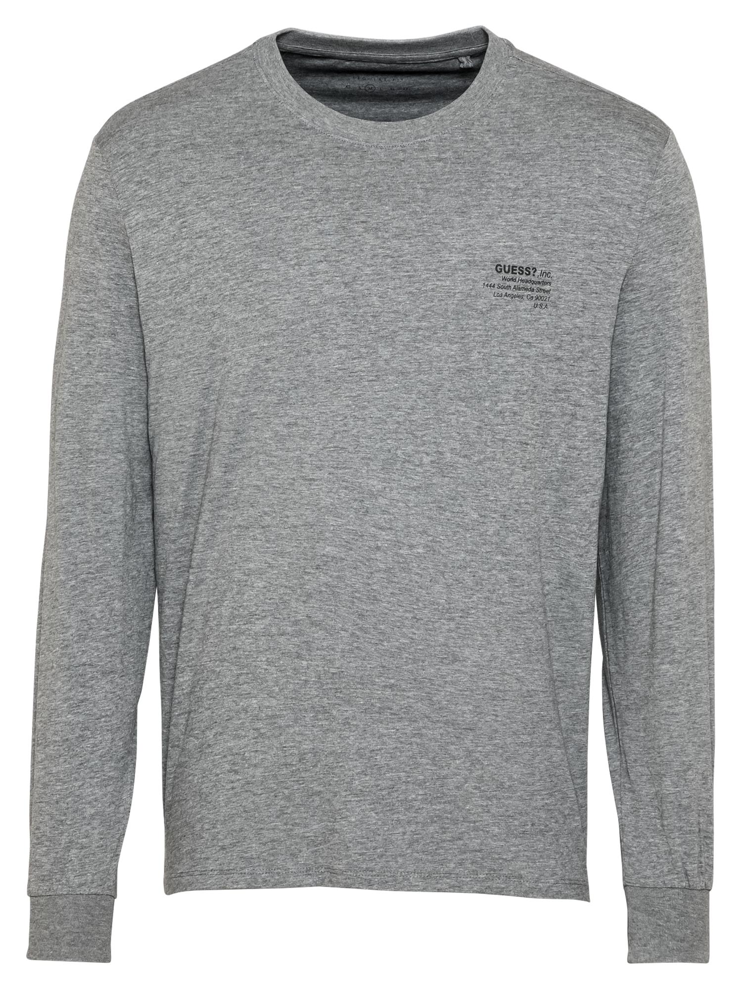 GUESS Marškinėliai pilka