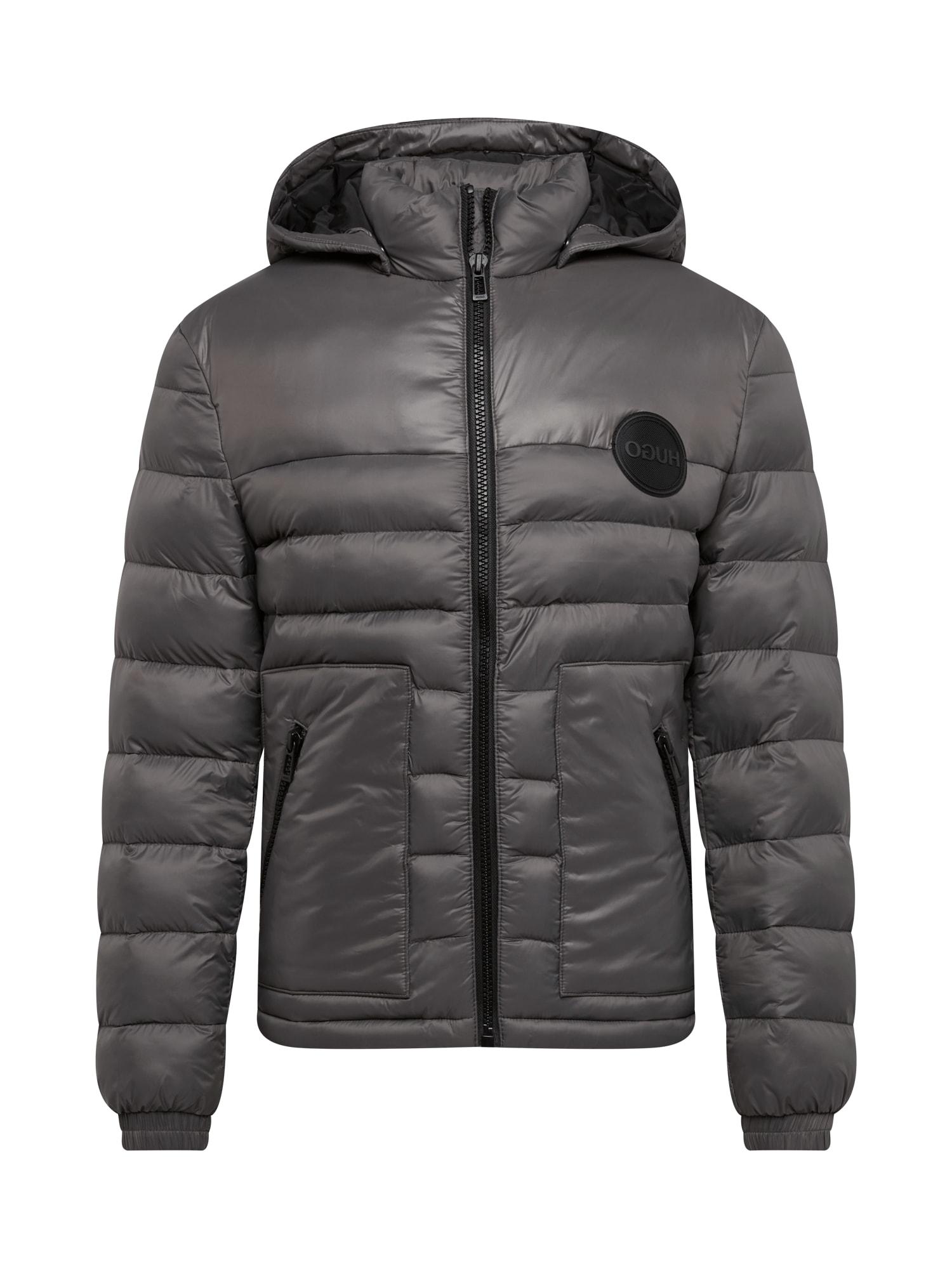 HUGO Zimní bunda 'Balin'  čedičová šedá