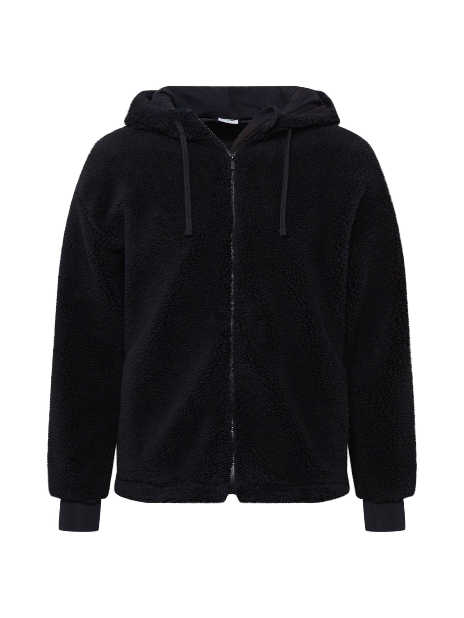 PUMA Flisinis džemperis juoda