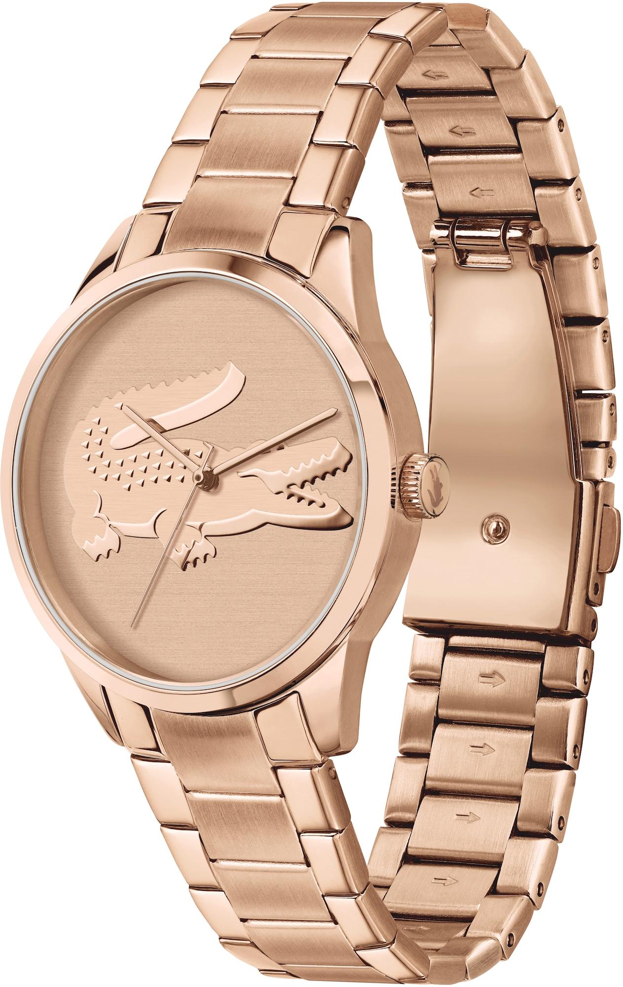 LACOSTE Analoginis (įprasto dizaino) laikrodis rožinio aukso spalva