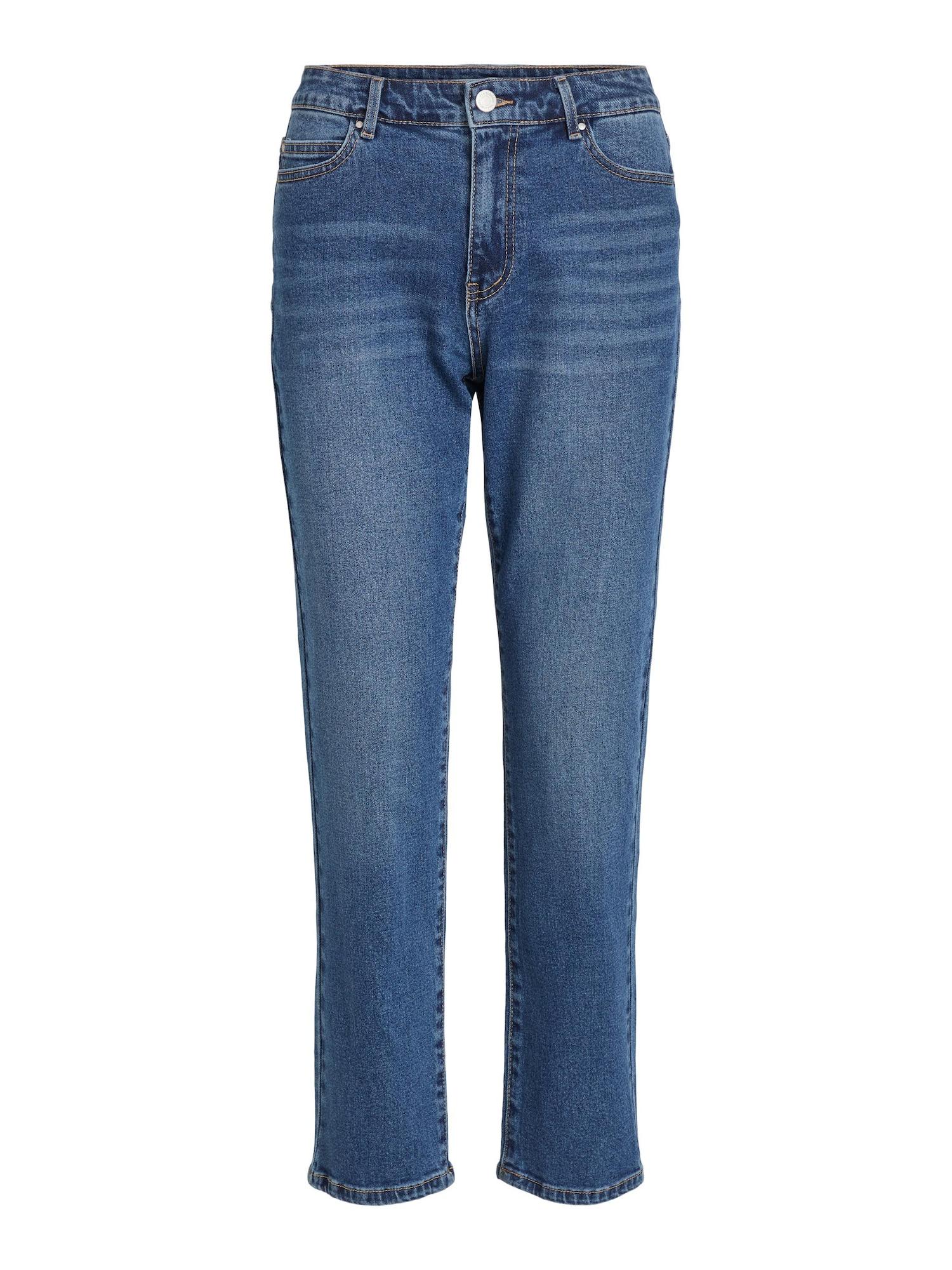 VILA Džinsai tamsiai (džinso) mėlyna
