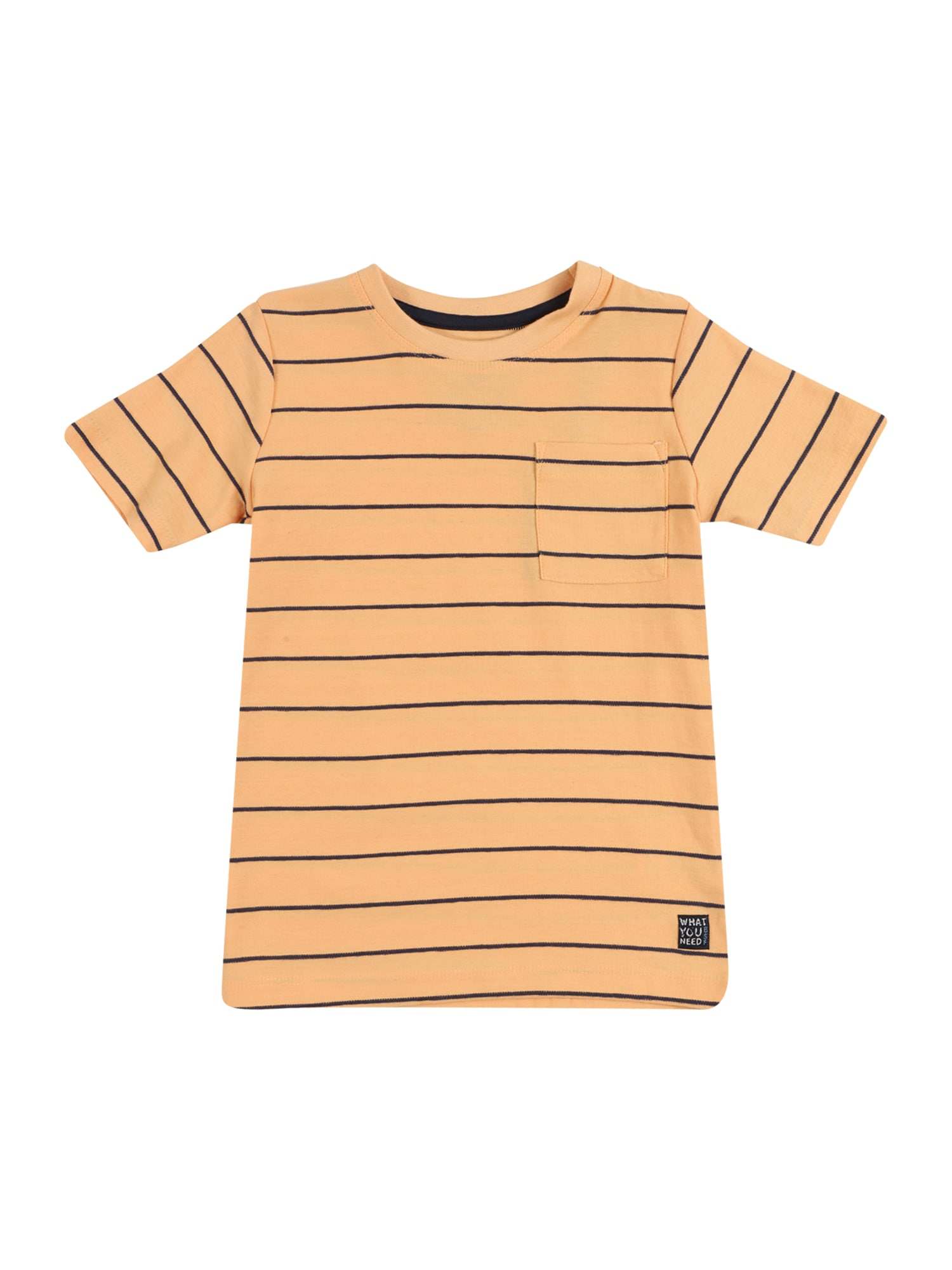 BASEFIELD Marškinėliai oranžinė / juoda