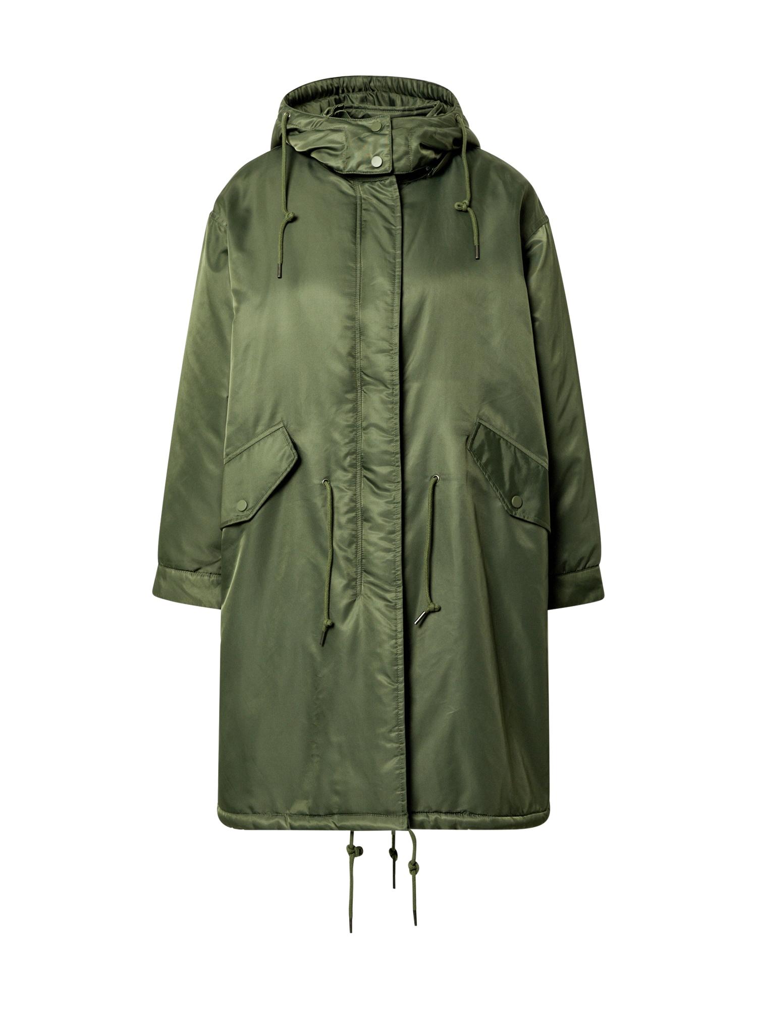 AMERICAN VINTAGE Rudeninis-žieminis paltas rusvai žalia