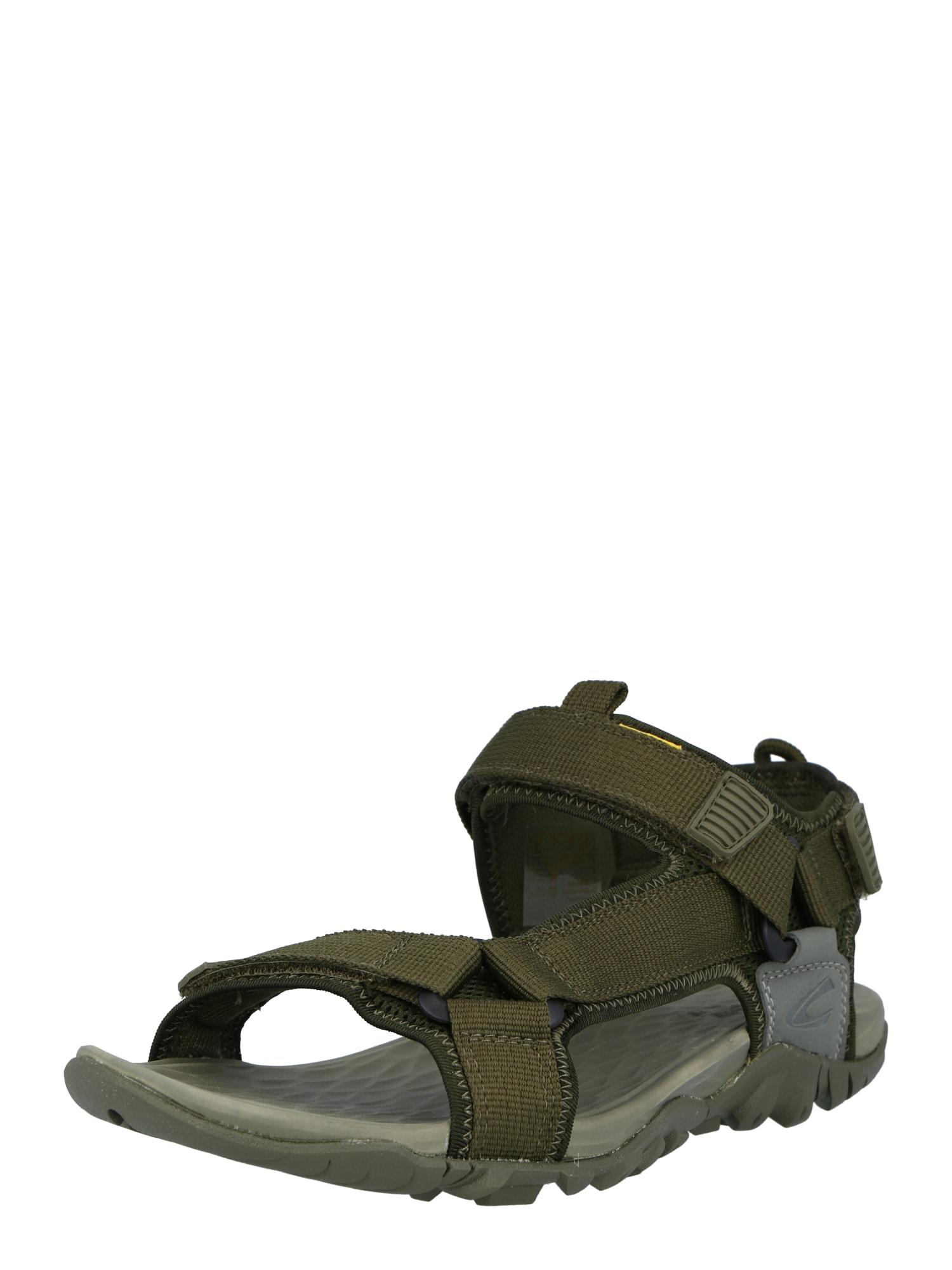 CAMEL ACTIVE Sportinio tipo sandalai alyvuogių spalva