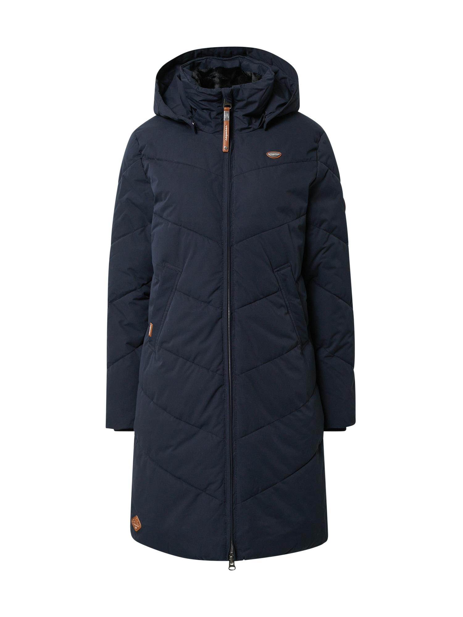 Ragwear Zimní kabát 'Rebelka'  námořnická modř