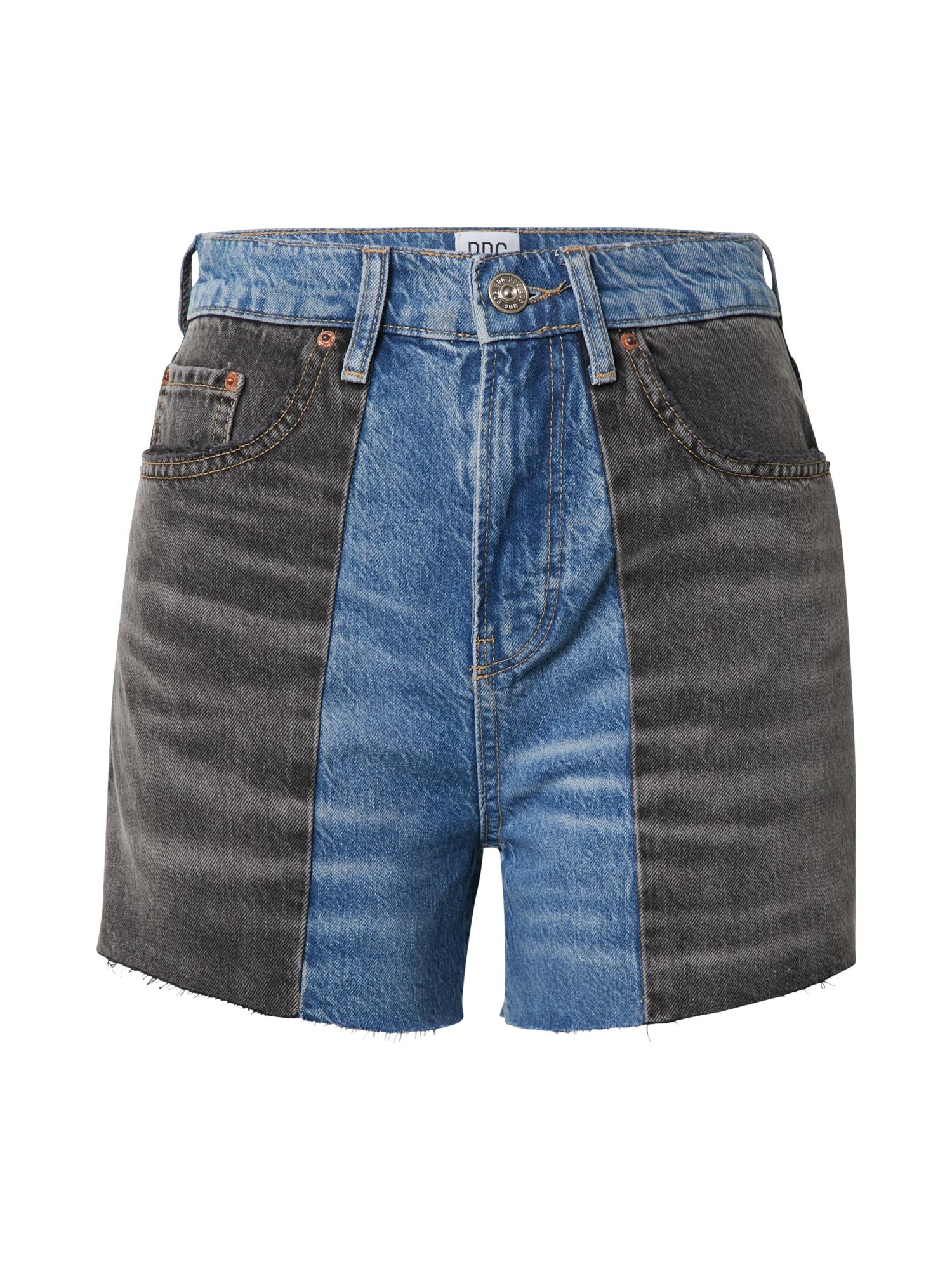 BDG Urban Outfitters Džinsai tamsiai (džinso) mėlyna / juodo džinso spalva