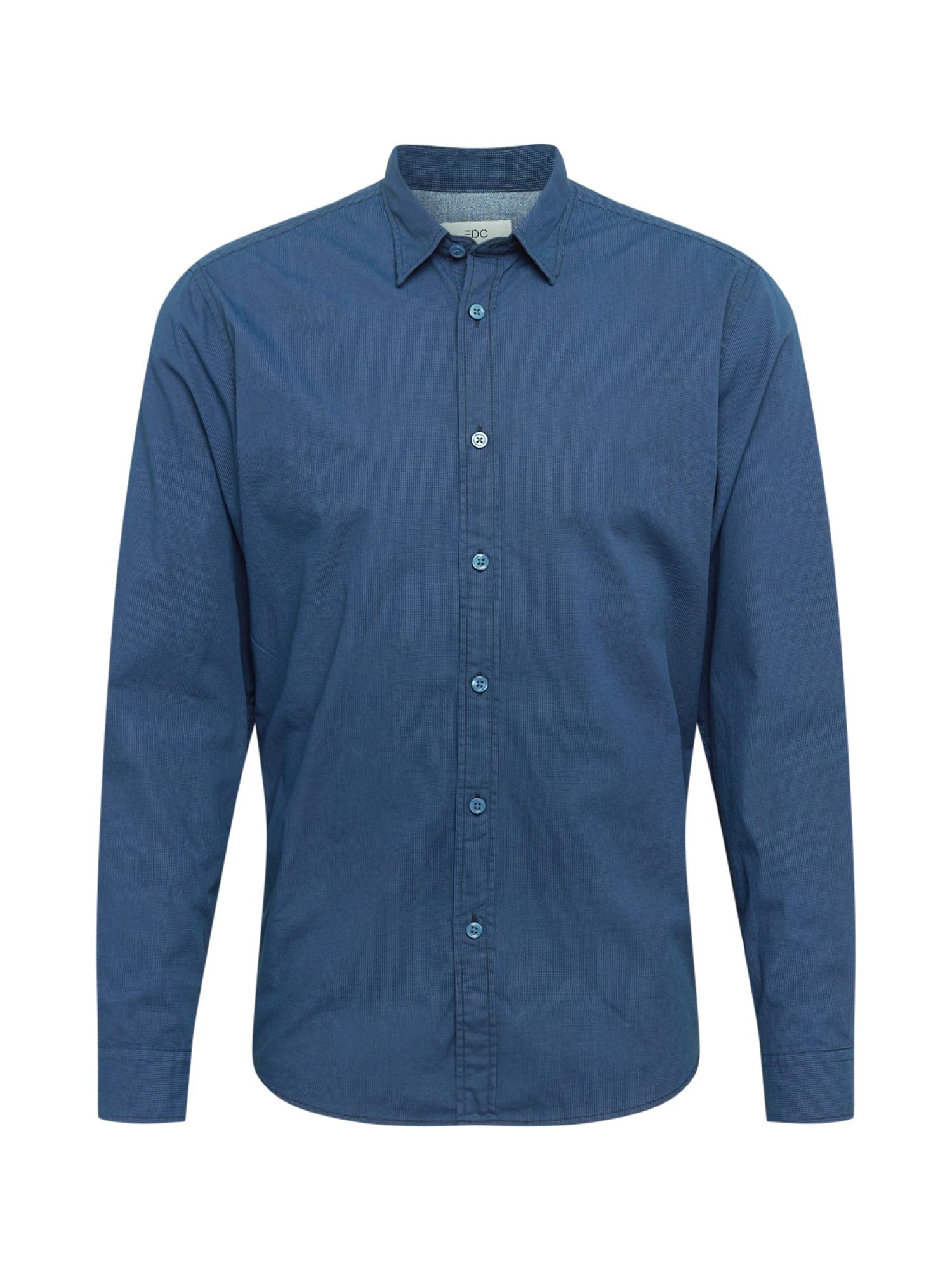 EDC BY ESPRIT Marškiniai dangaus žydra