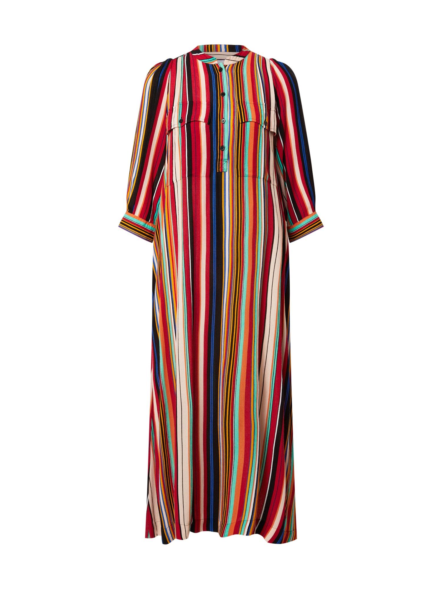 Line of Oslo Palaidinės tipo suknelė mišrios spalvos