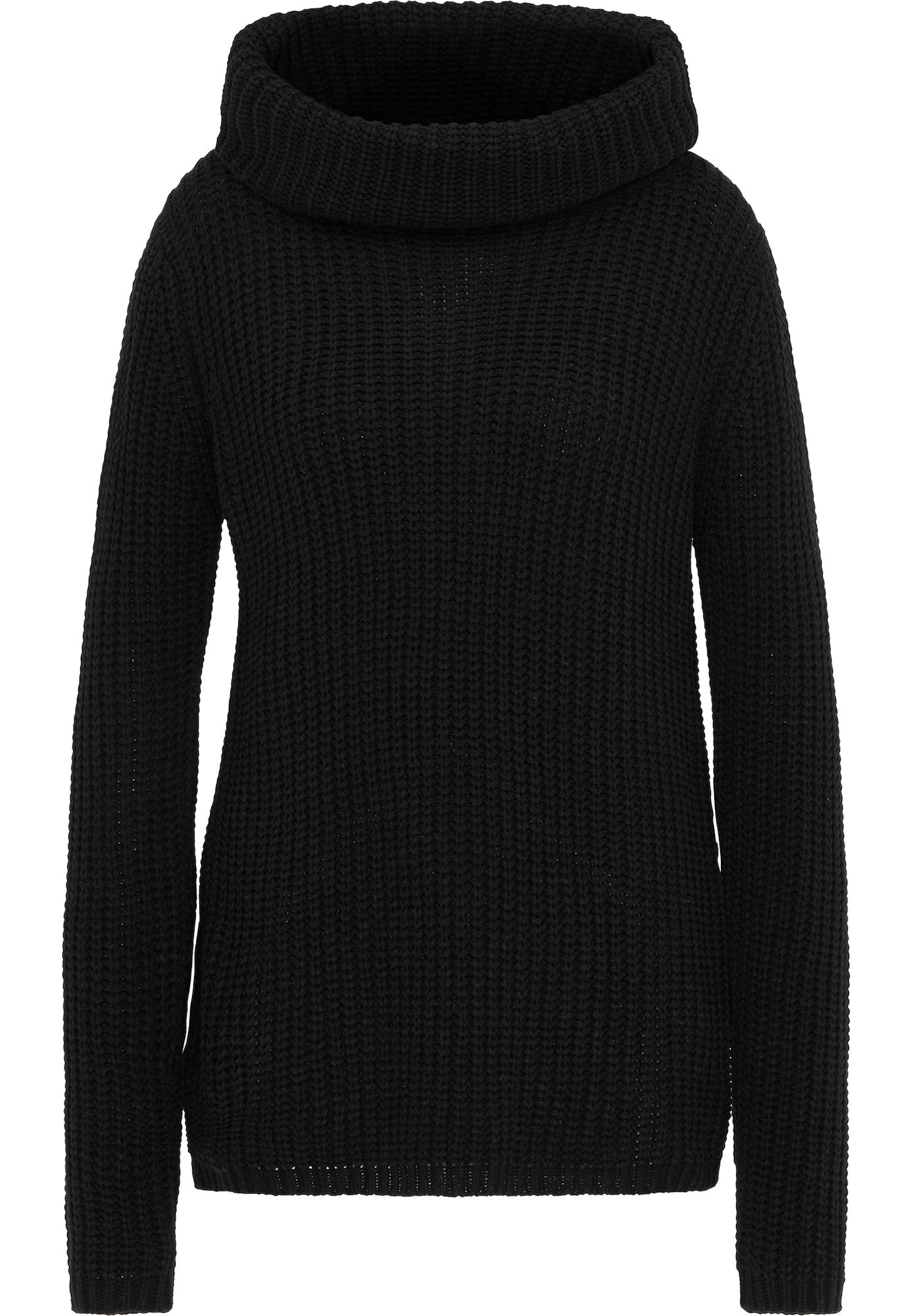 usha BLUE LABEL Laisvas megztinis juoda