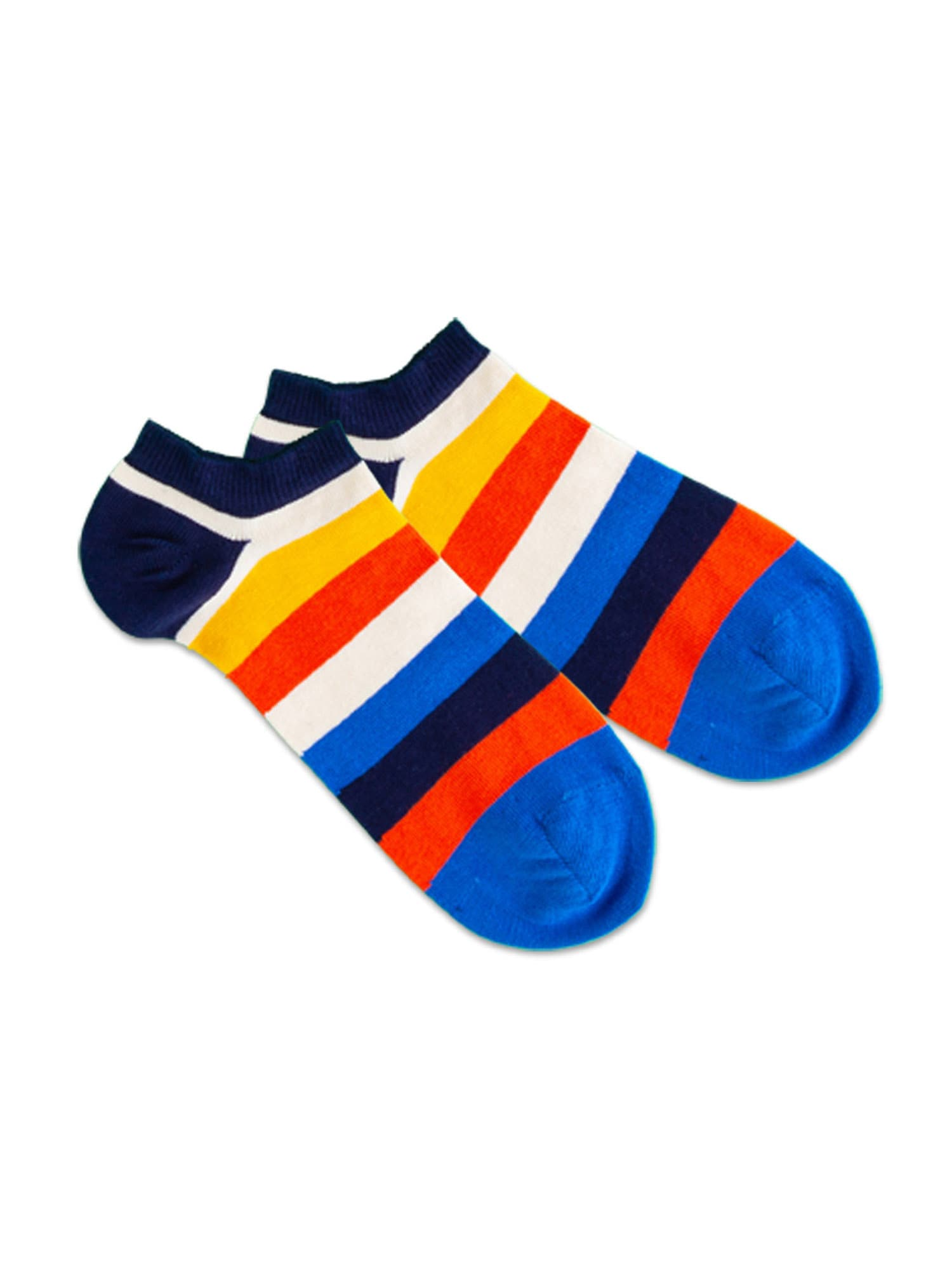 DillySocks Kojinaitės mėlyna / tamsiai mėlyna / balta / geltona / raudona